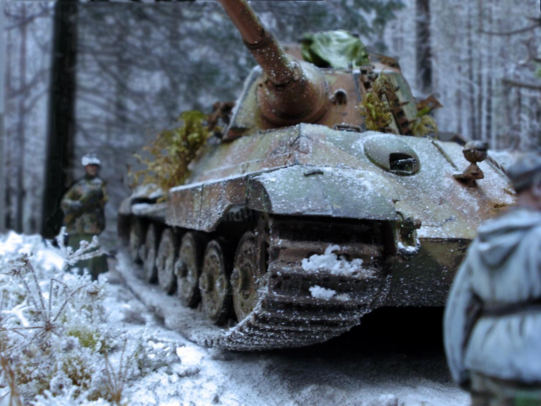 Diorama, Germany, Tank, World War 2