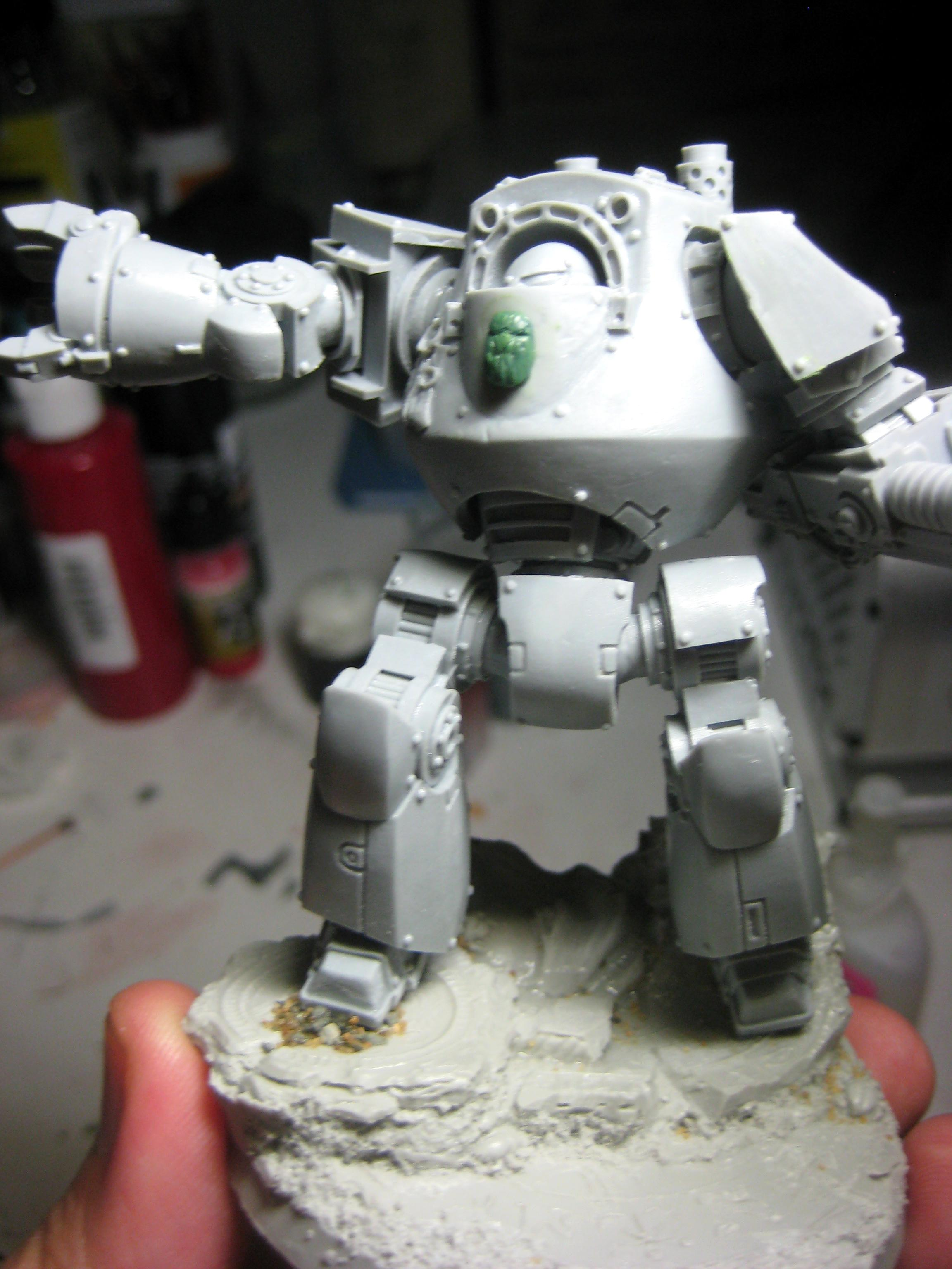 Conversion, Dreadnought, Forge World, Pre Heresy, Space Marines, Thousand Sons, Warhammer 40,000, Work In Progress