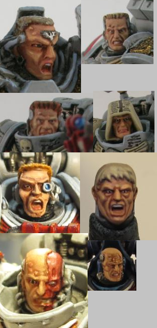 Faces, Gk, Grey Knights