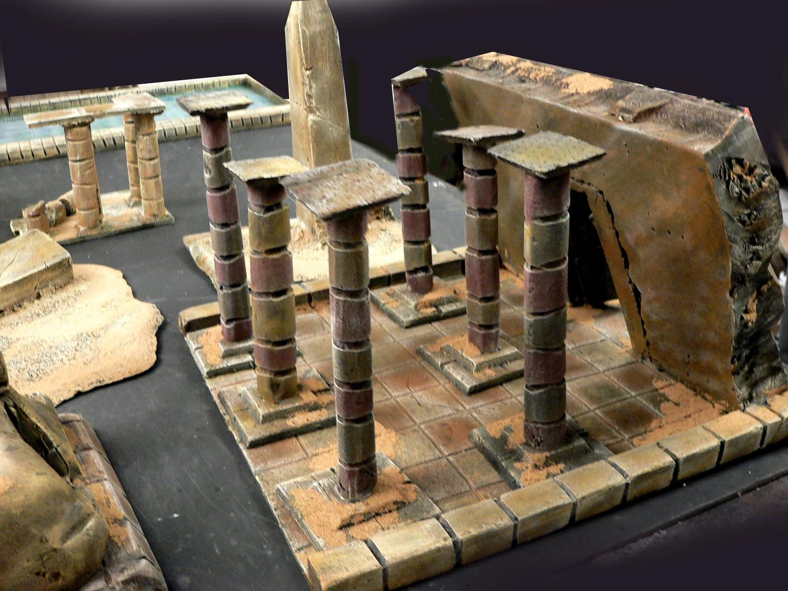 Desrt, Egyptian, Foofihter Terrain, Tonb Kings
