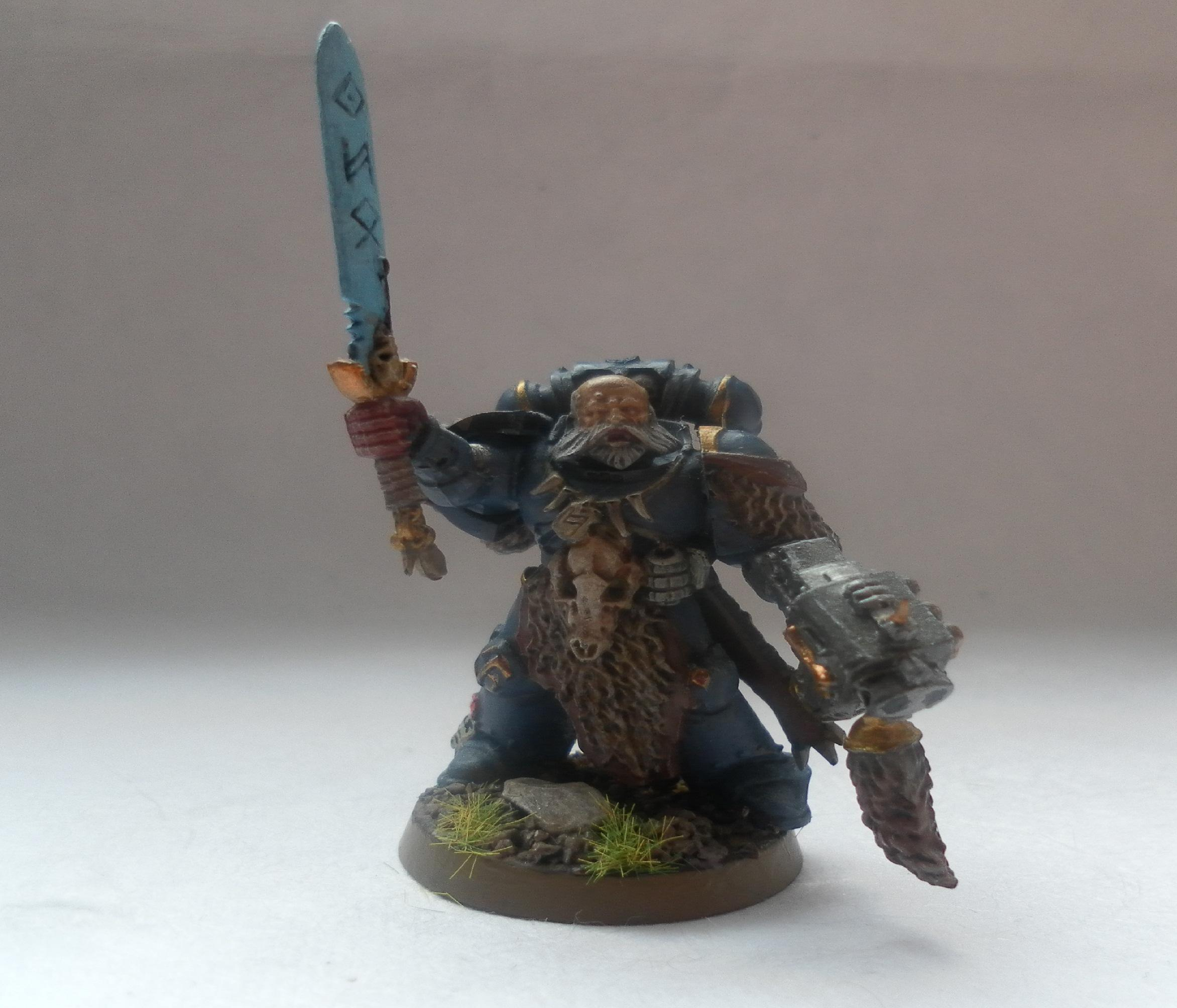 Space Marines, Space Wolves, Warhammer 40,000, Wolf Guard