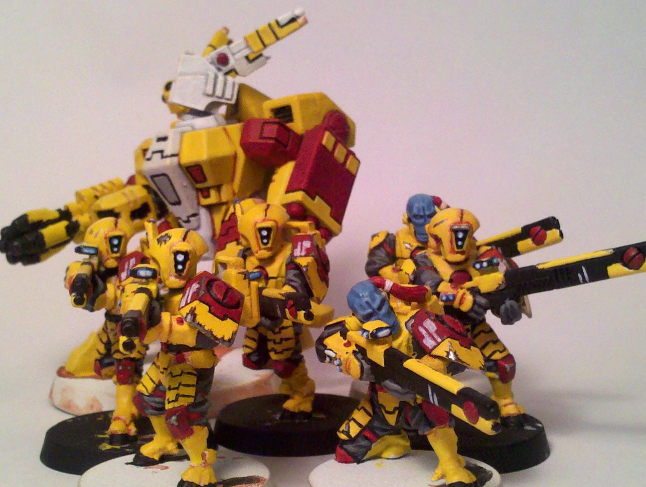 Crisis Battlesuit, Fire Warriors, Tau