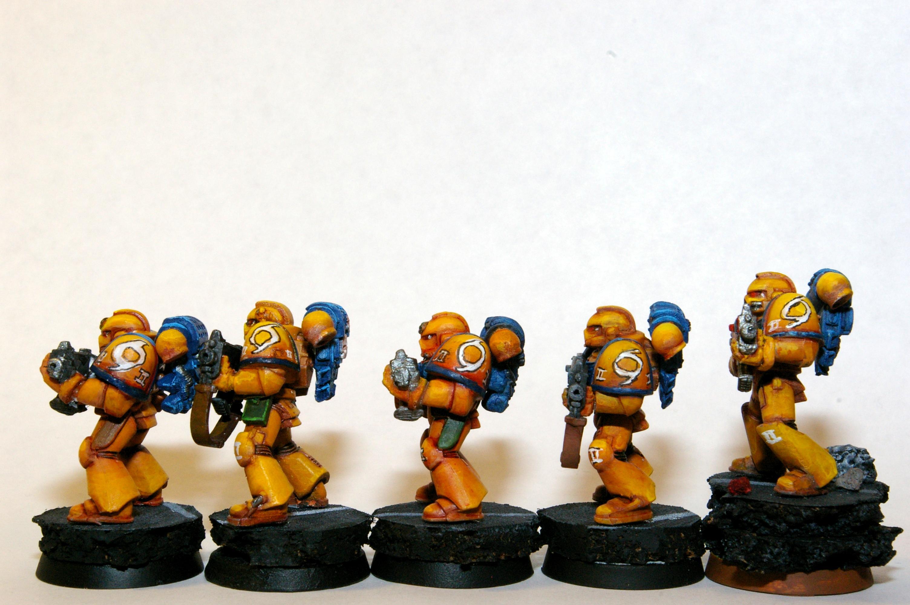 Space Marines, Storm Legion Combat Squad (Left)