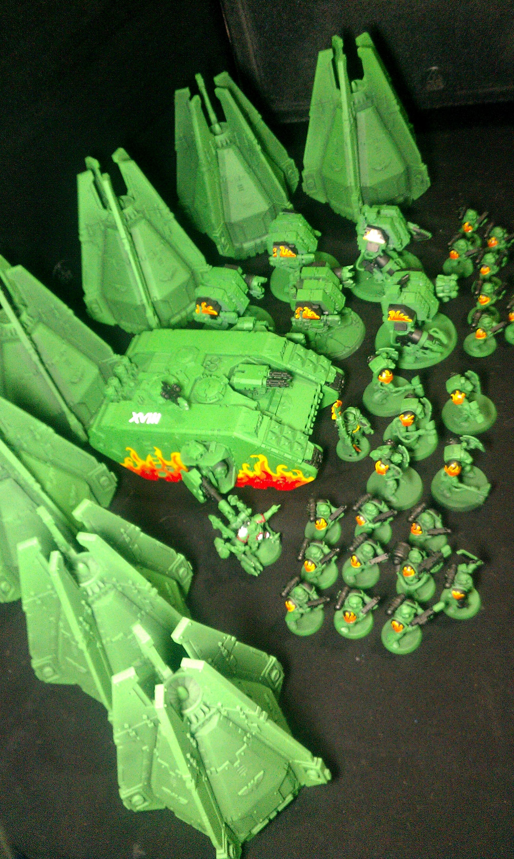 Dreadnought, Drop Pod, Salamanders