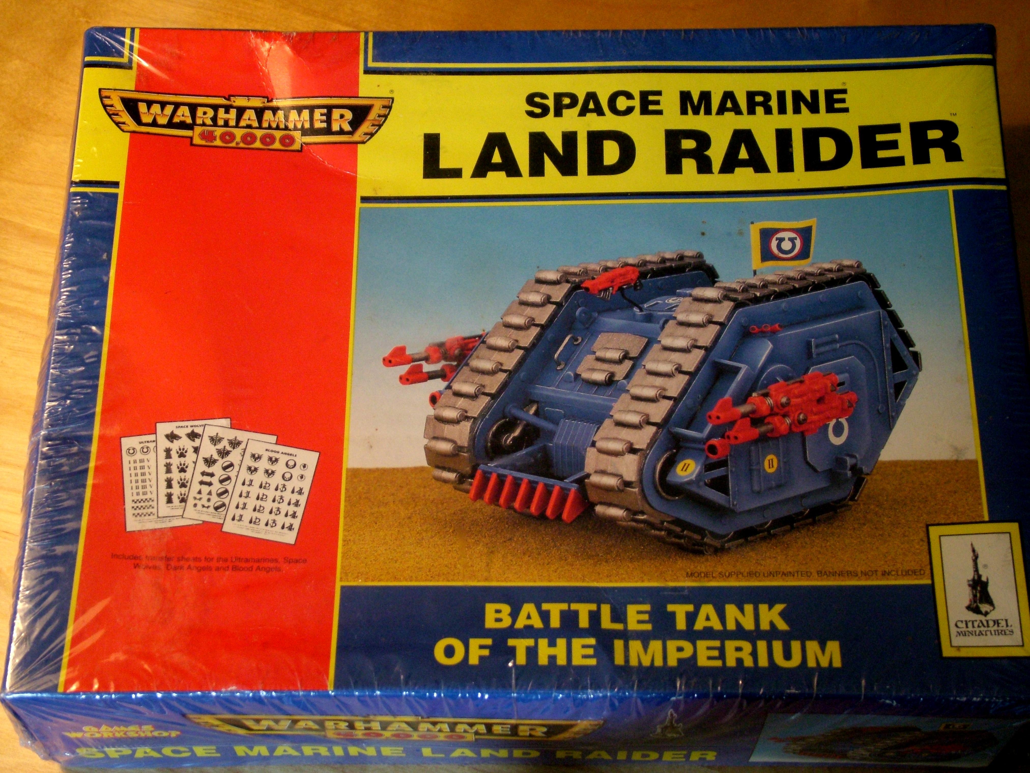 Land Raider, Rogue Trader, Space Marines