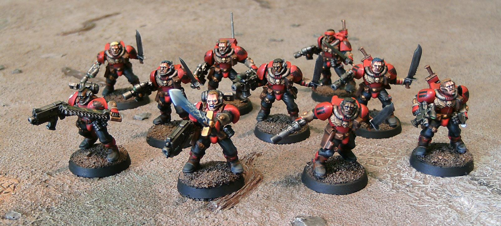 Blood Ravens, Magnet, Maxmini, Ouze, Scouts, Space Marines, Warhammer 40,000