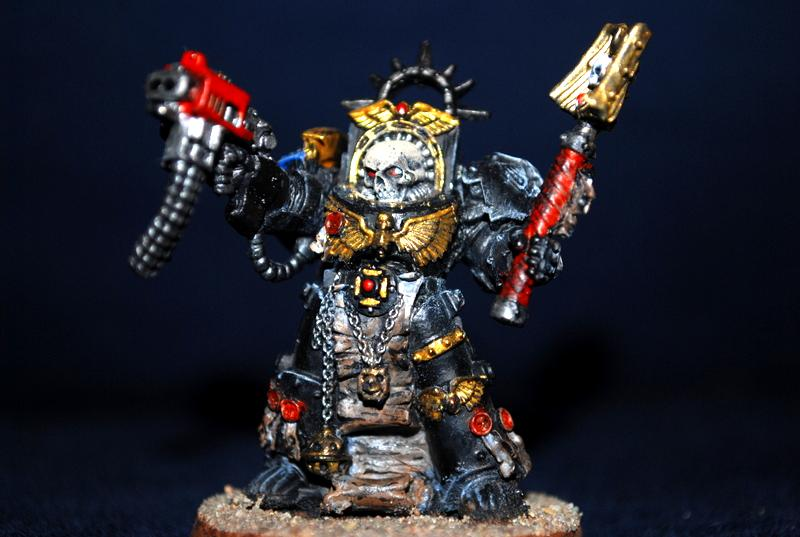 Chaplain, Space Marines