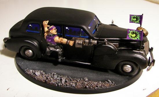 Armored Limousine, Cars, Genestealer Cult, Limo, Limousine
