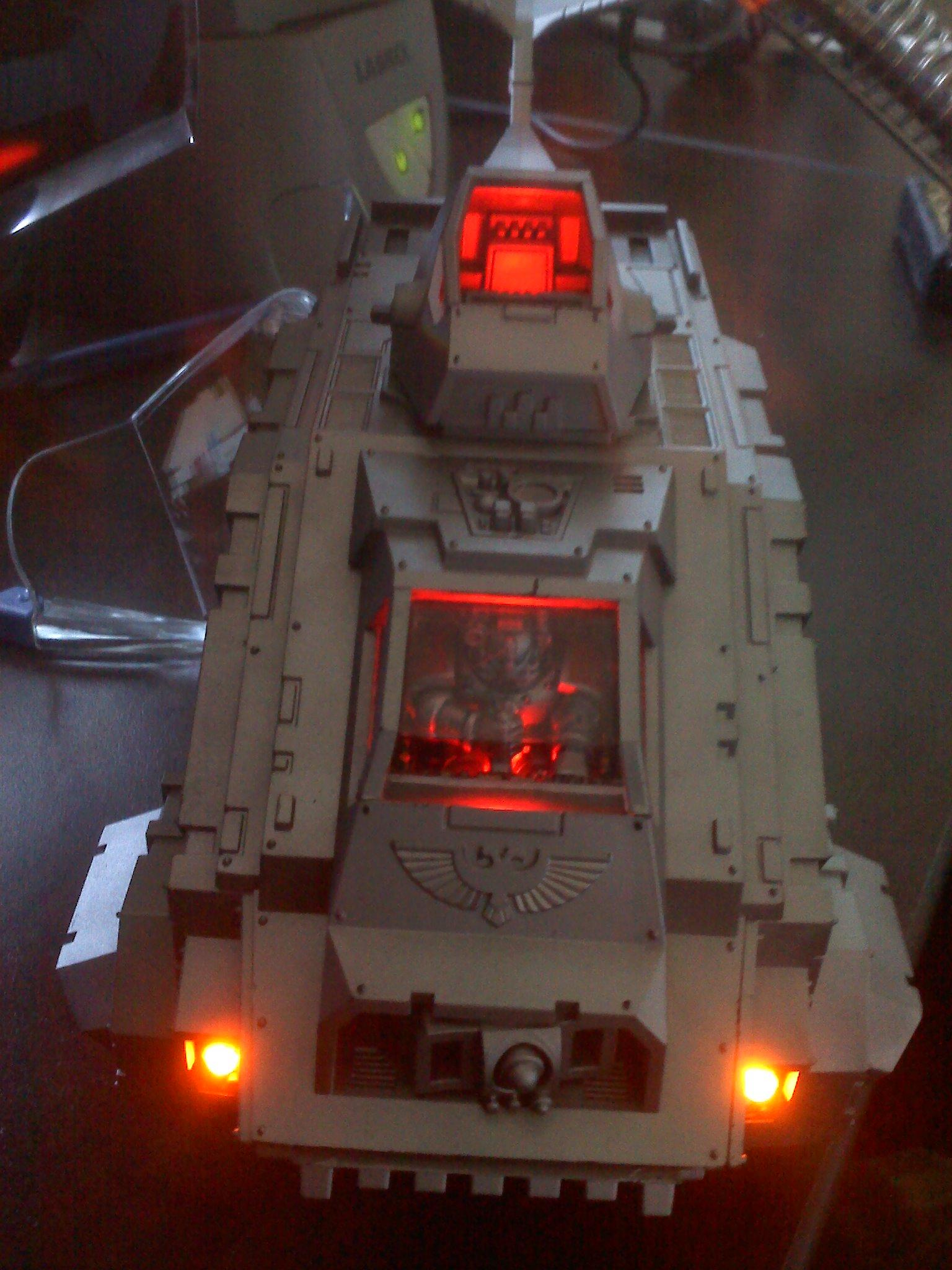Conversion, LED, Space Marines., Warhammer 40,000, Work In Progress