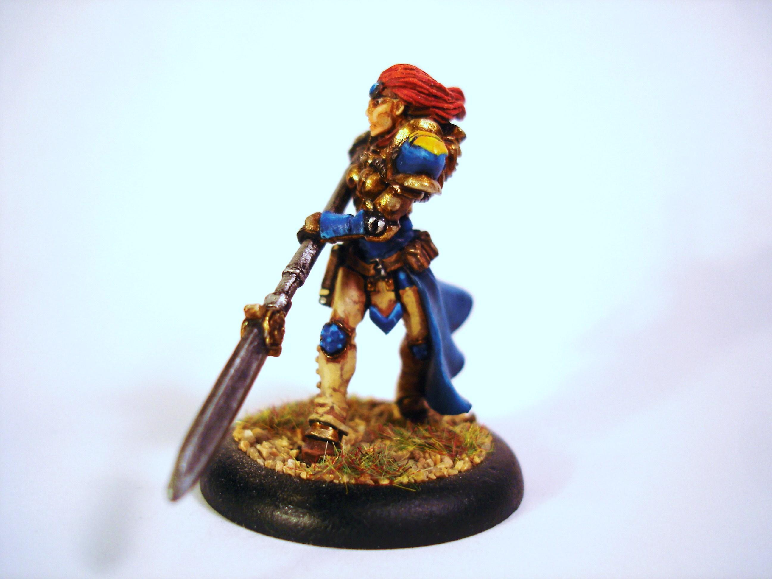 Warmachine, Captain Victoria Haley