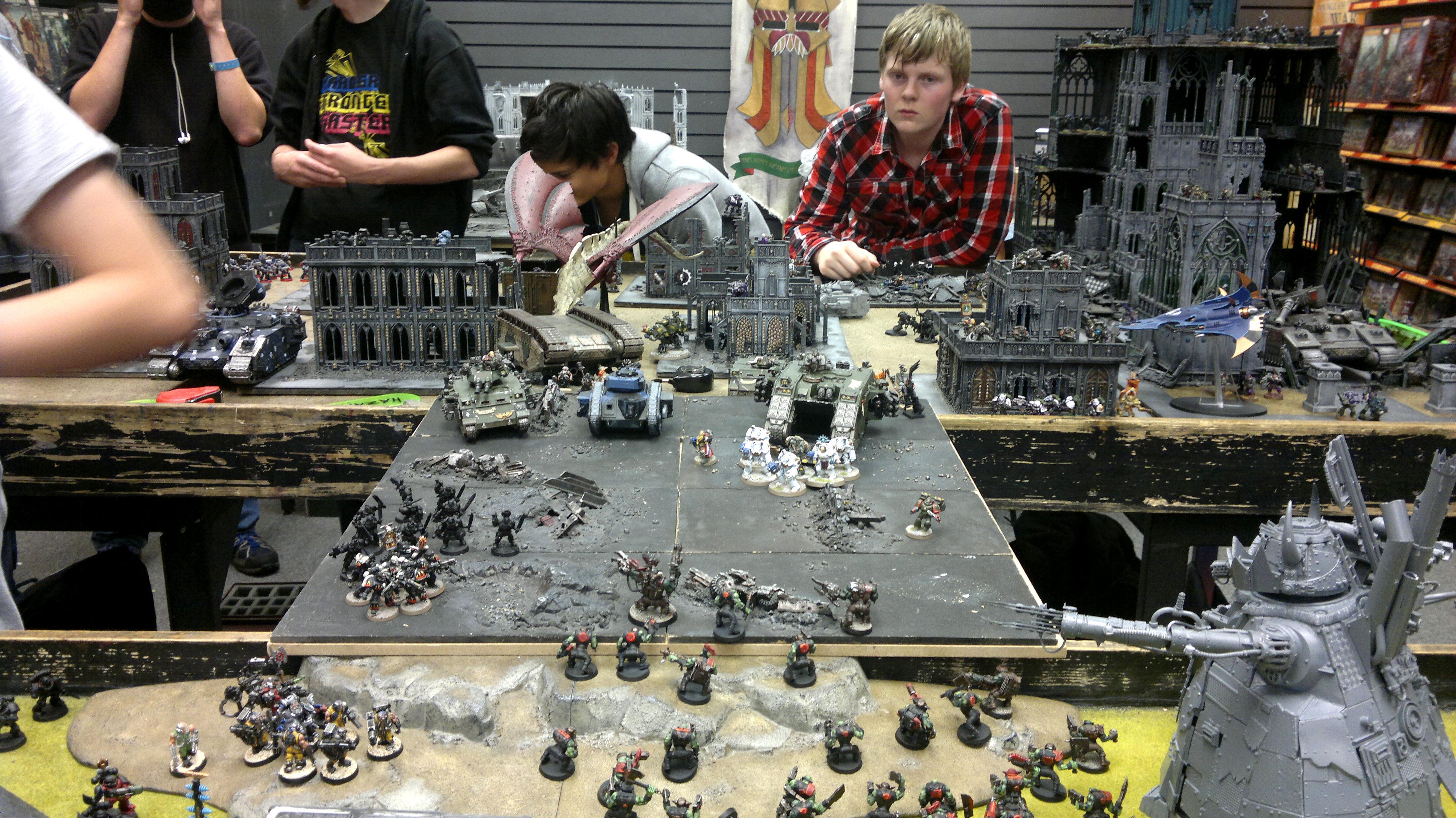 Apocalypse, Battle, Warhammer 40,000
