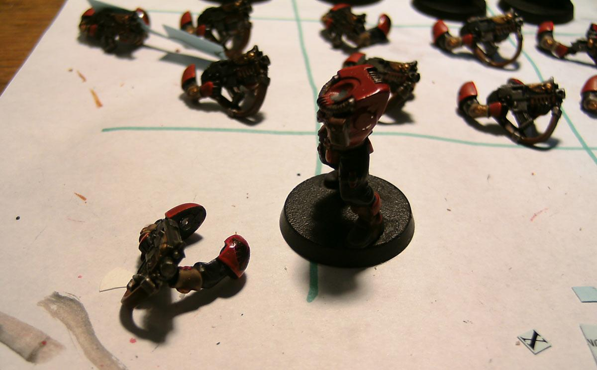 Blood Ravens, Magnet, Ouze, Scouts, Space Marines, Warhammer 40,000