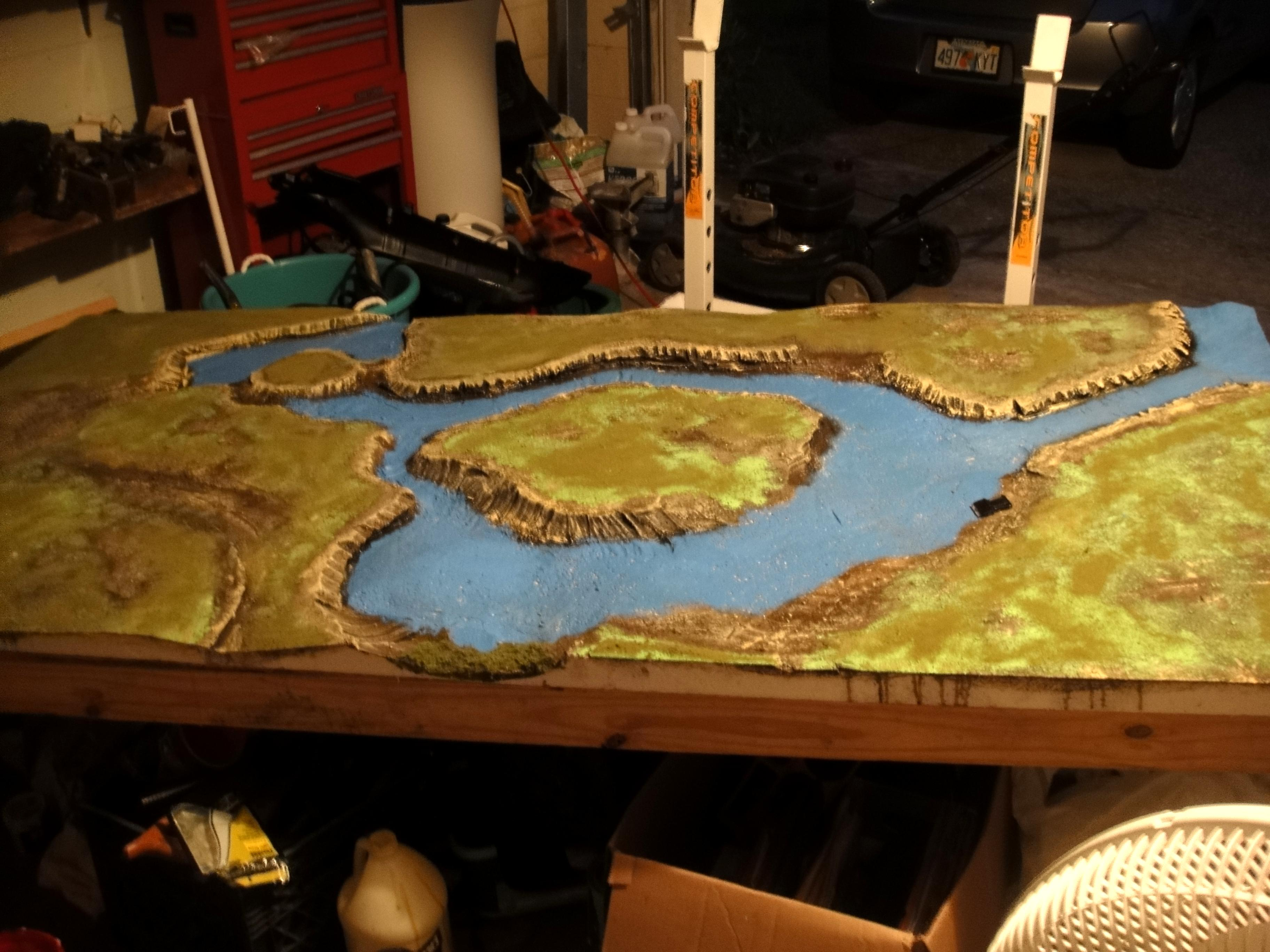 Awesome, Custom, Game Table, Space Marines, Top, Tuitorial, Warhammer Fantasy