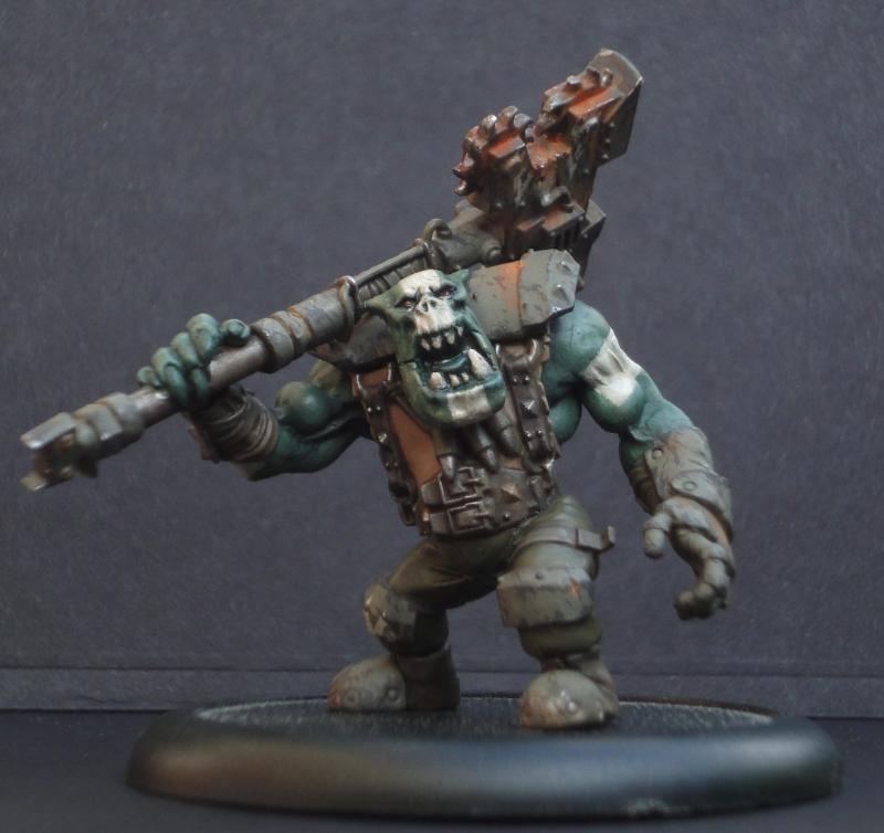 Greenskin, Nob, Orks, Warhammer 40,000