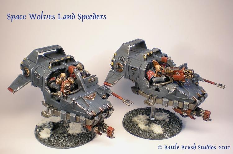 Land Speeder, Space Marines, Space Wolves, Warhammer 40,000