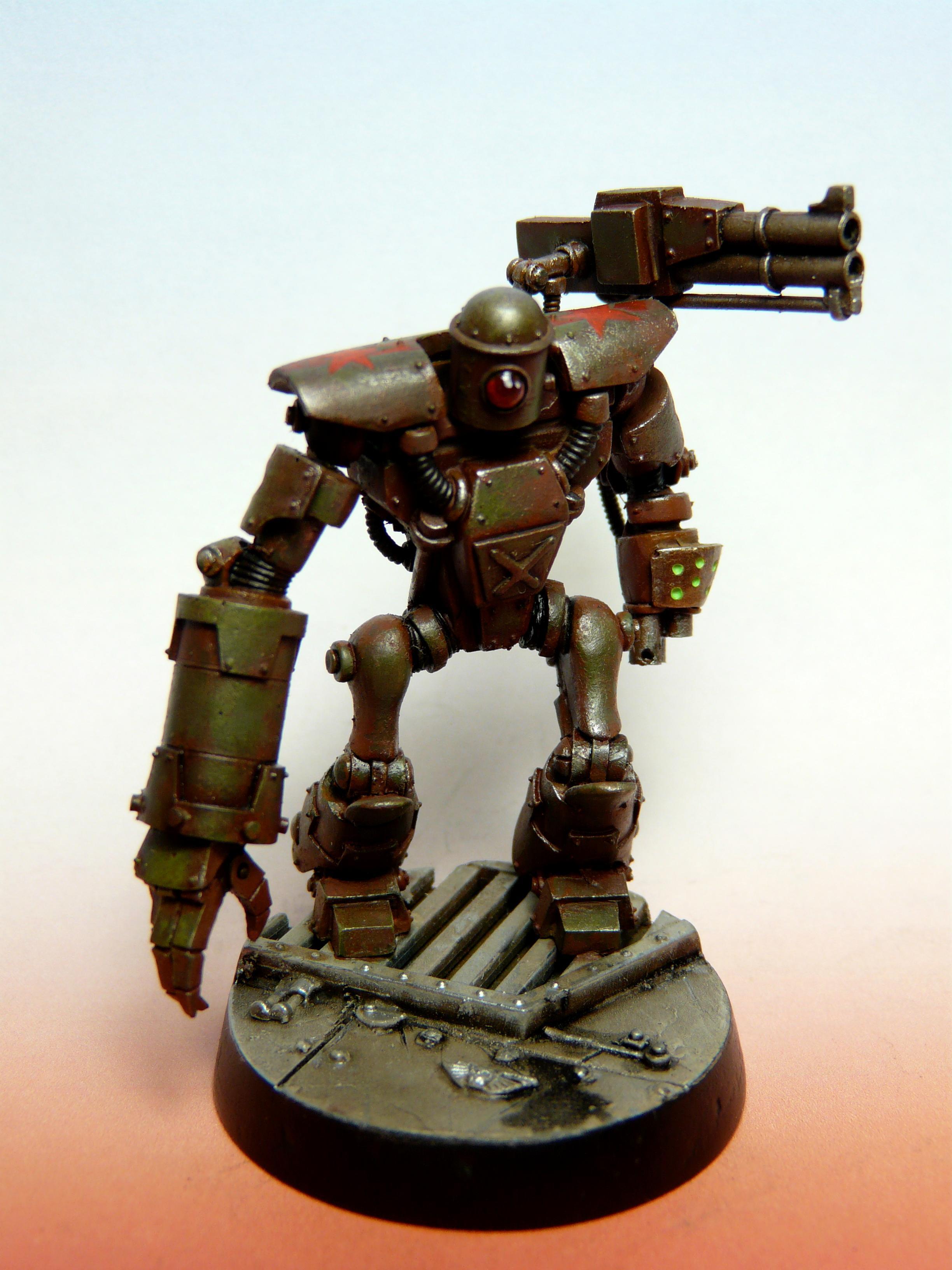 Bigdaddy, Golem, Robot, Steam, Steampunk