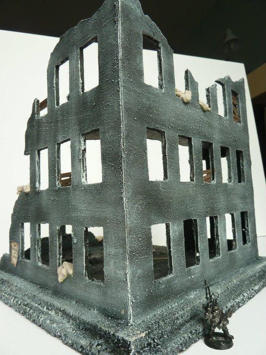 Bombed, City, Ruins, Terrain, Wargames, Warhammer 40,000