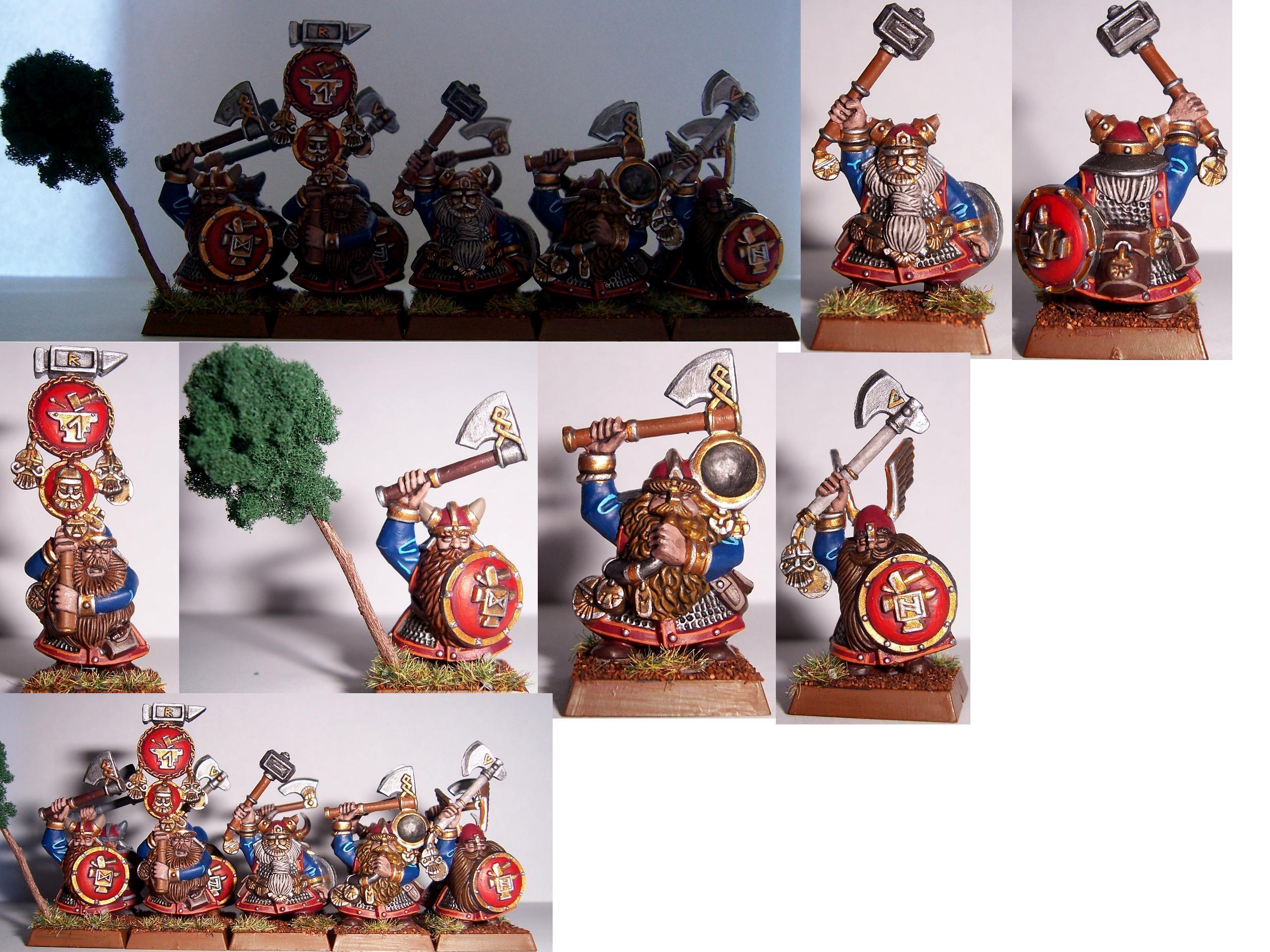 Dwarves, Warriors, Dwarven warriors