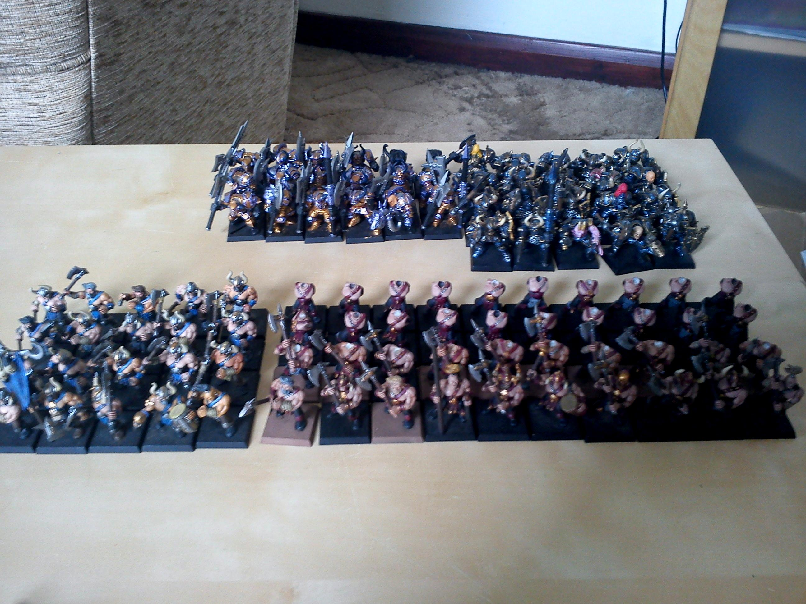 Most of the infantry