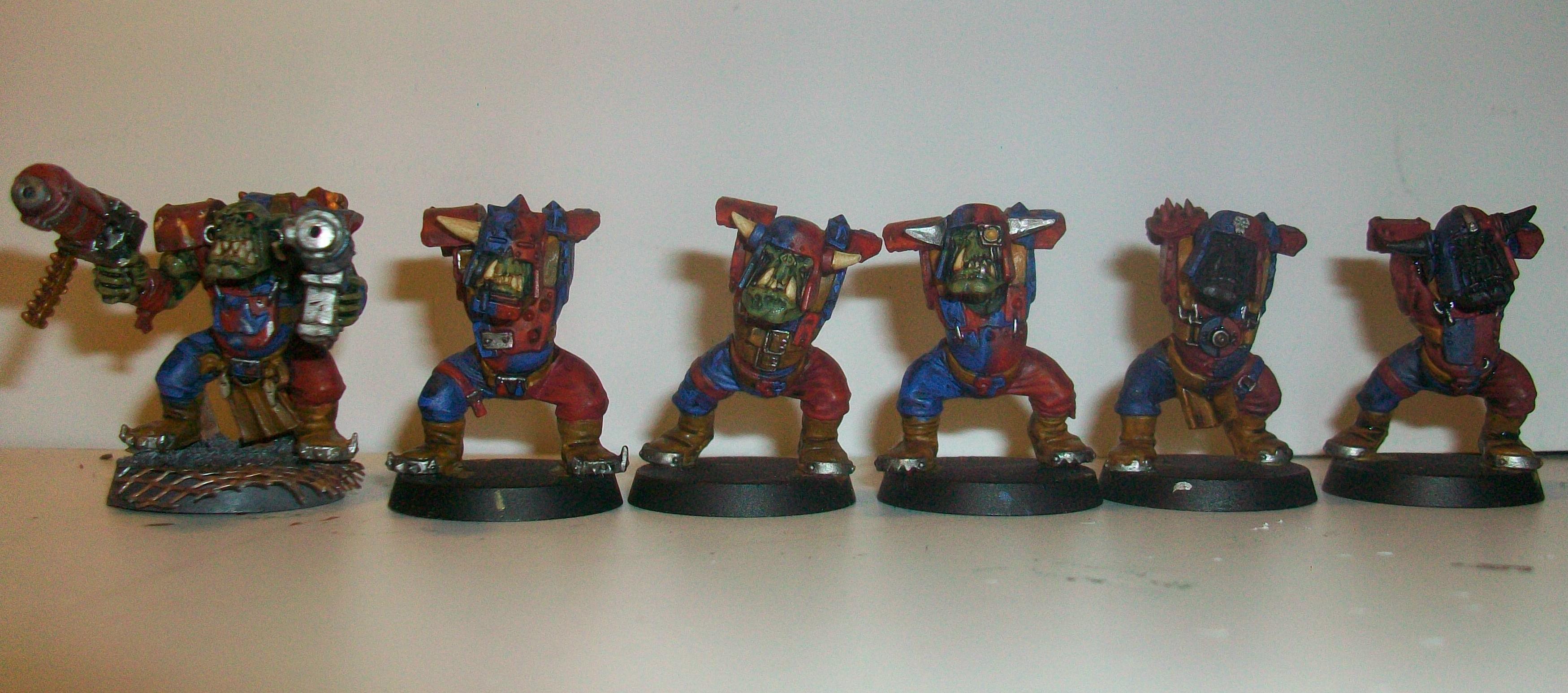 'ard Boyz, Da Brazen Klawz, Orks, Smorks