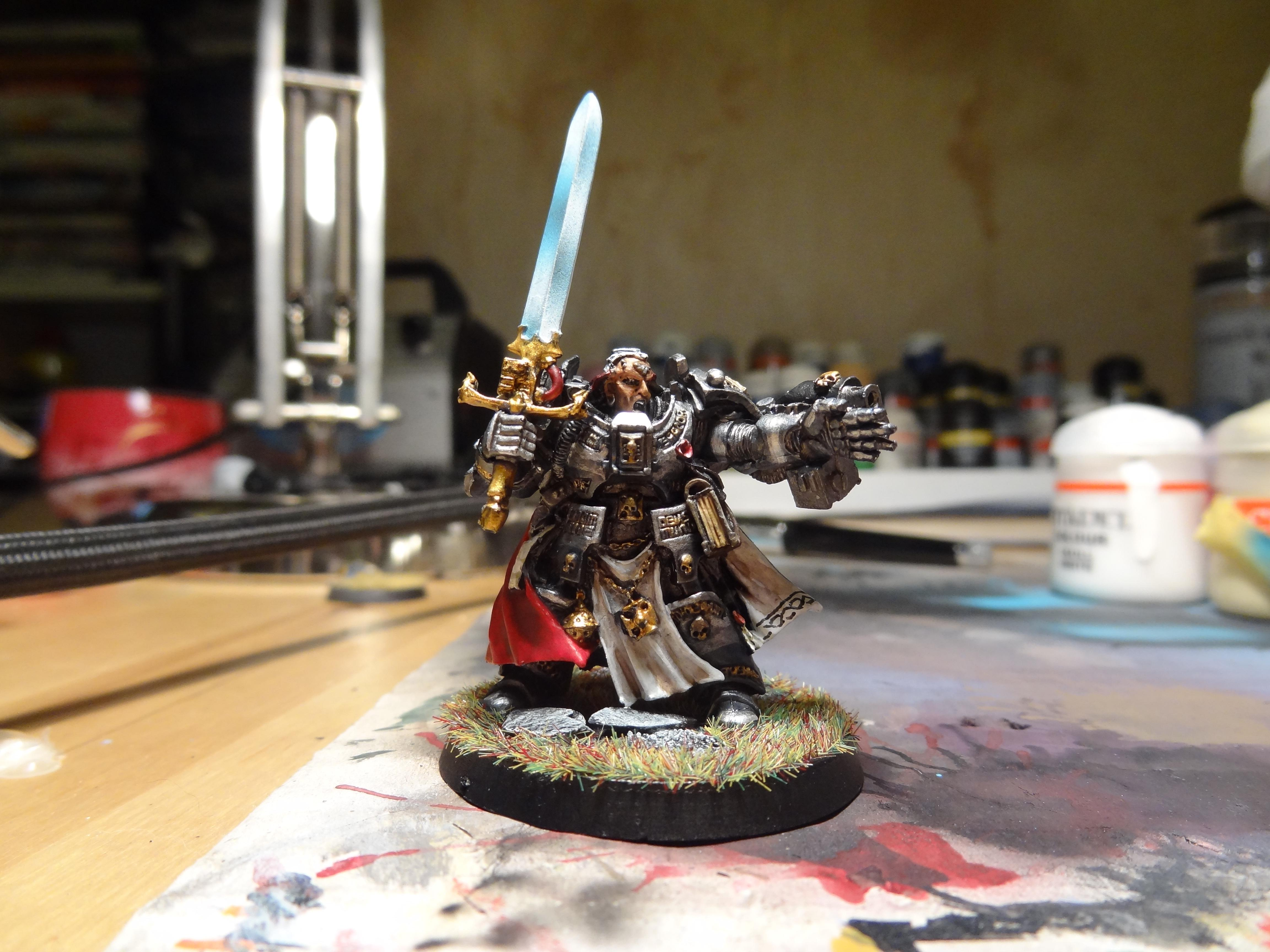 Brother Captain Stern, Grey Knights, Inquisition, Warhammer 40,000