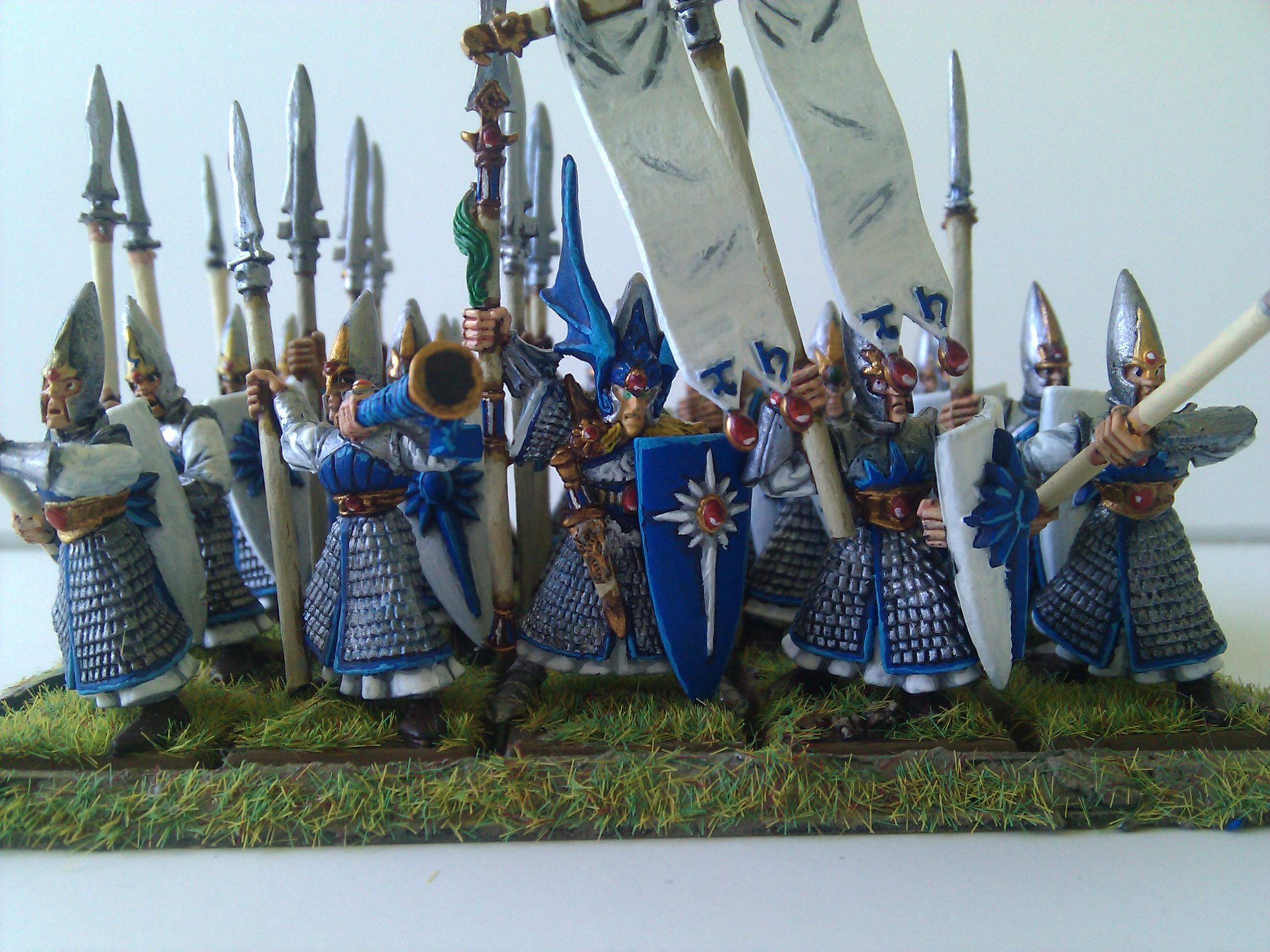 High Elves, Spearman, Spearmen, Warhammer Fantasy