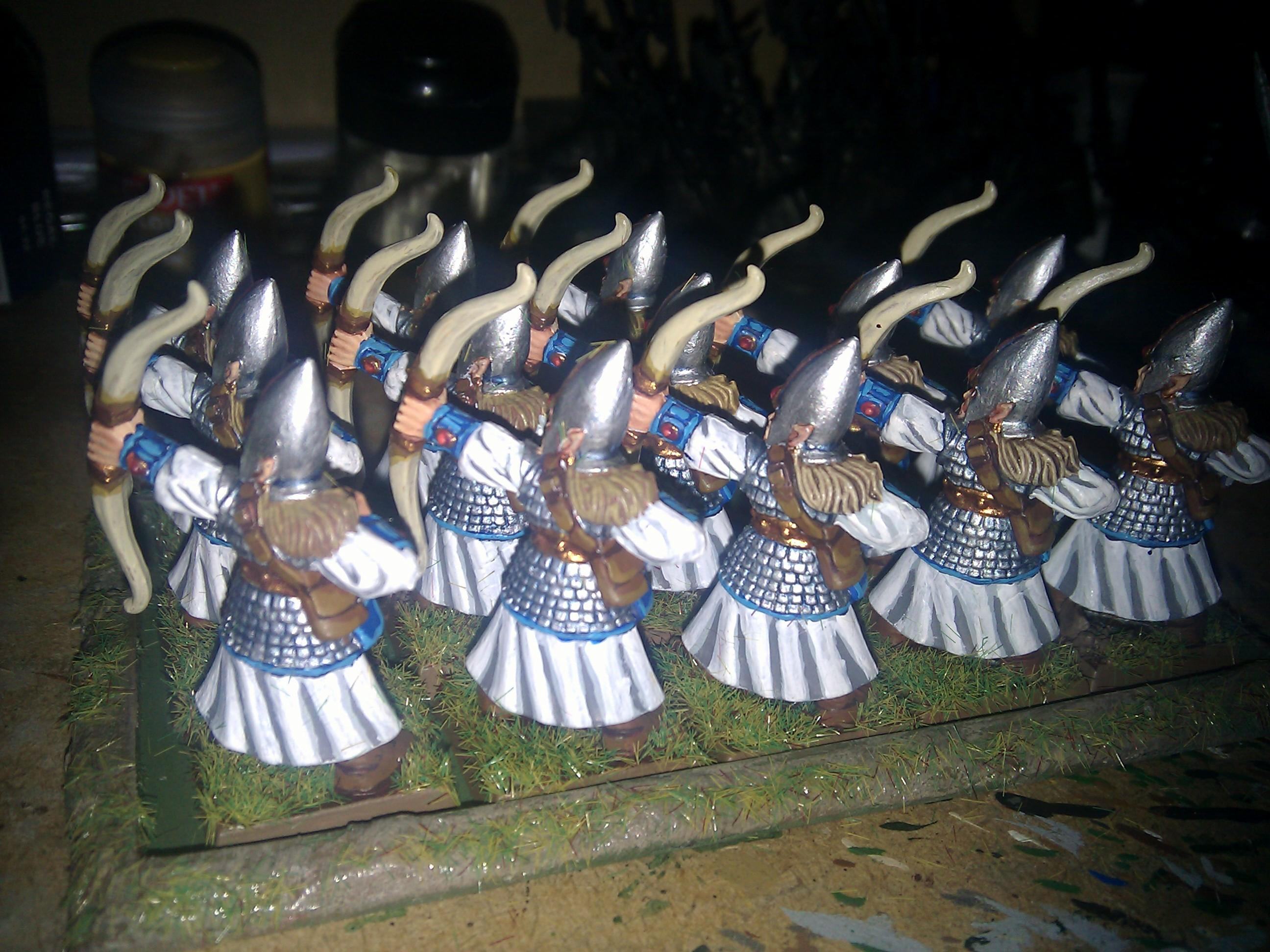 Archers, High Elves, Warhammer Fantasy