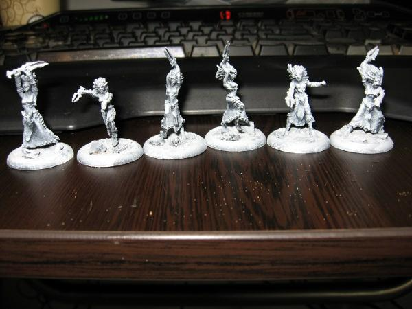 zenithal spray done on all 6 models in the unit