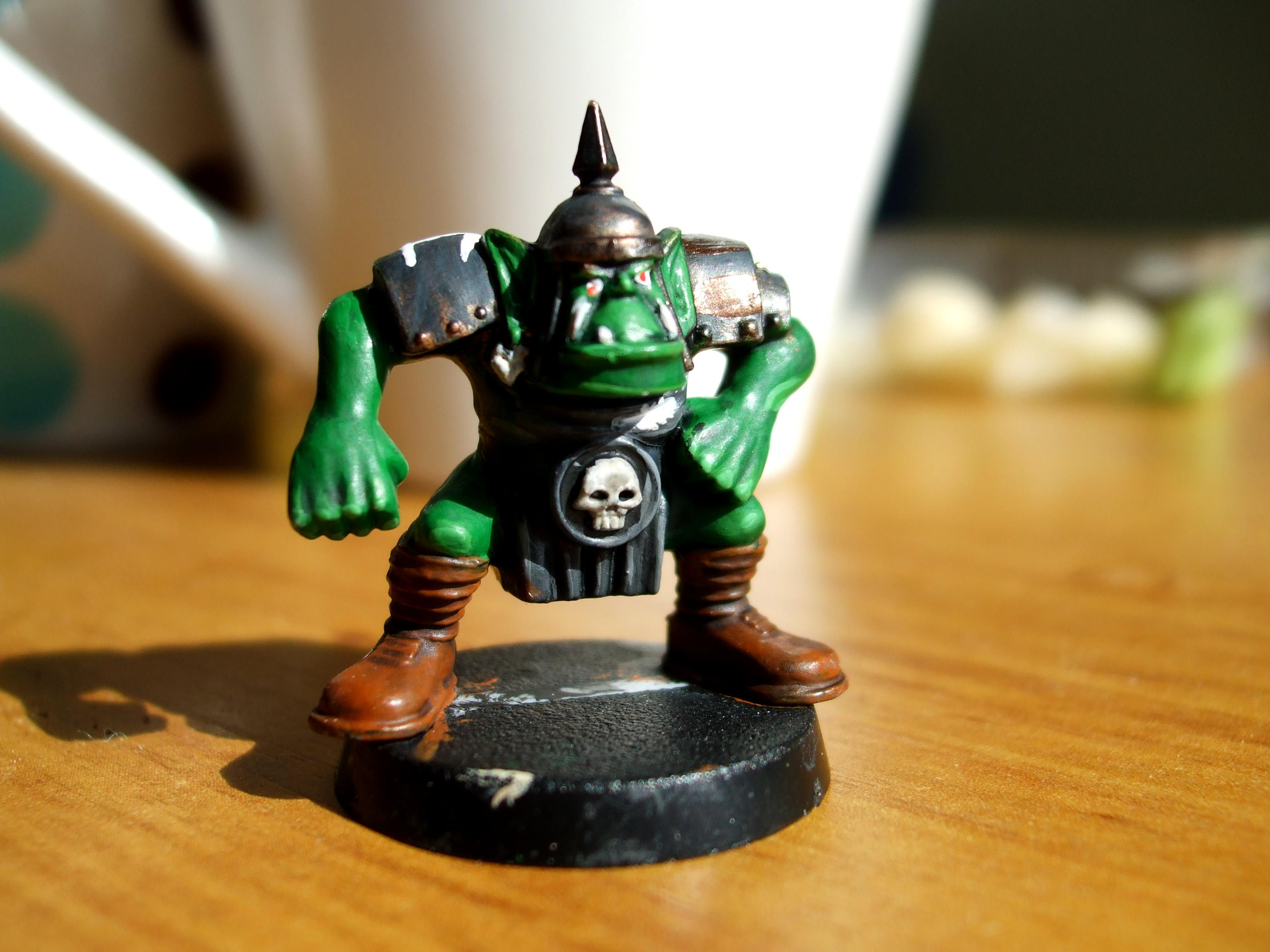 Blood Bowl, Orcs, Work In Progress