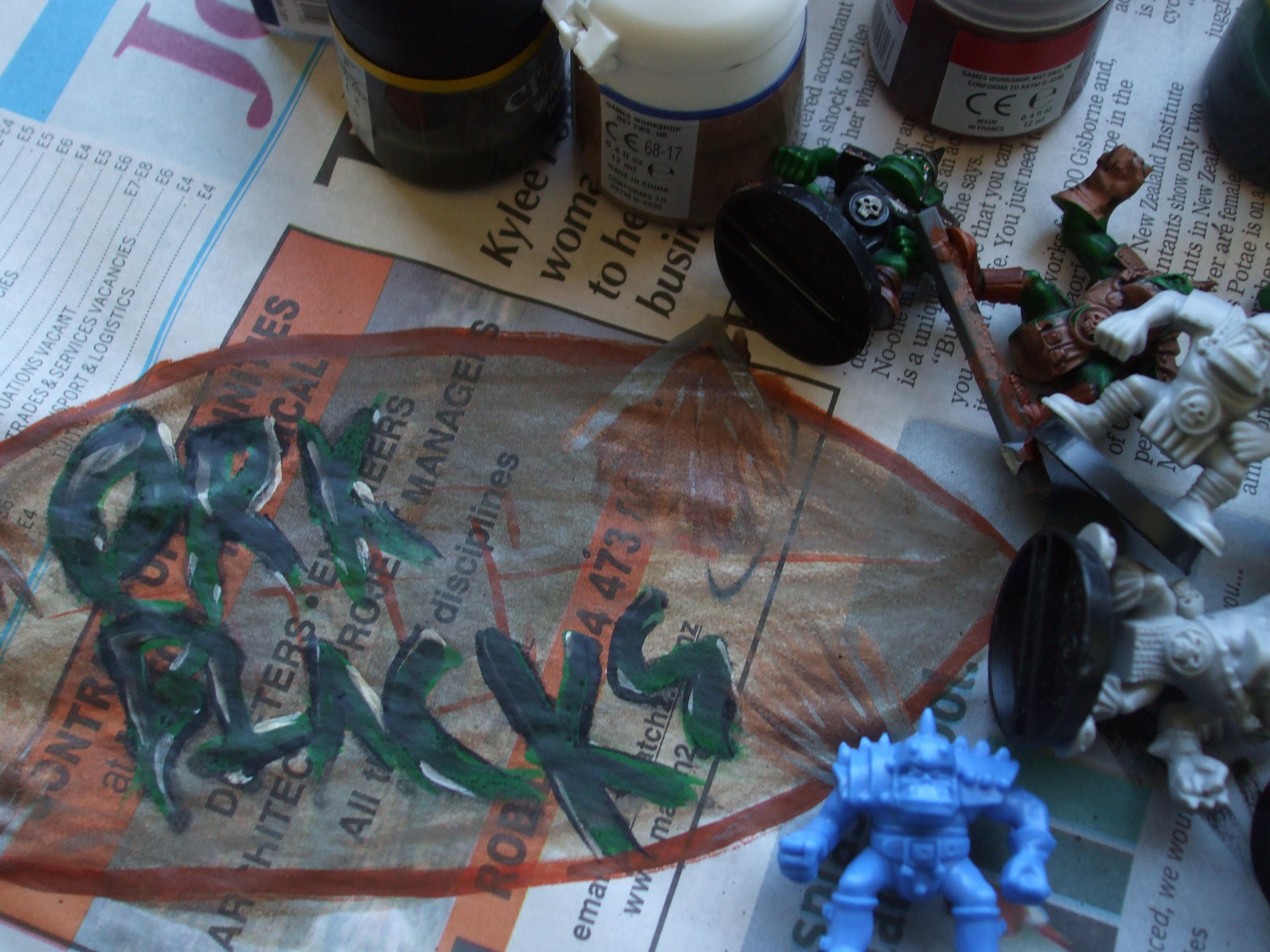 Blood Bowl, Orcs, Work In Progress