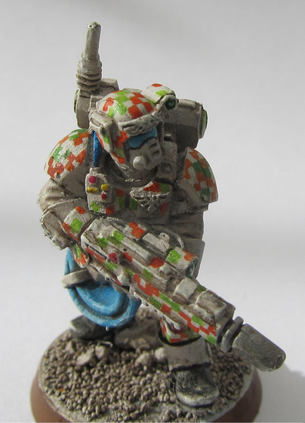 Digital, Digital Camo, Hellgun, Imperial Guard, Stormtrooper