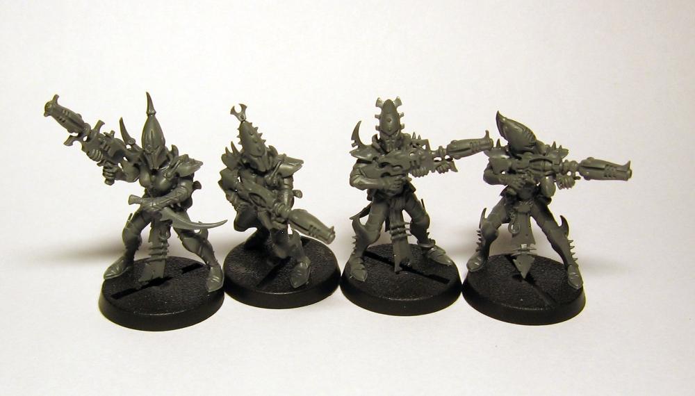Dark Eldar, Blasters: Slightly Reposed