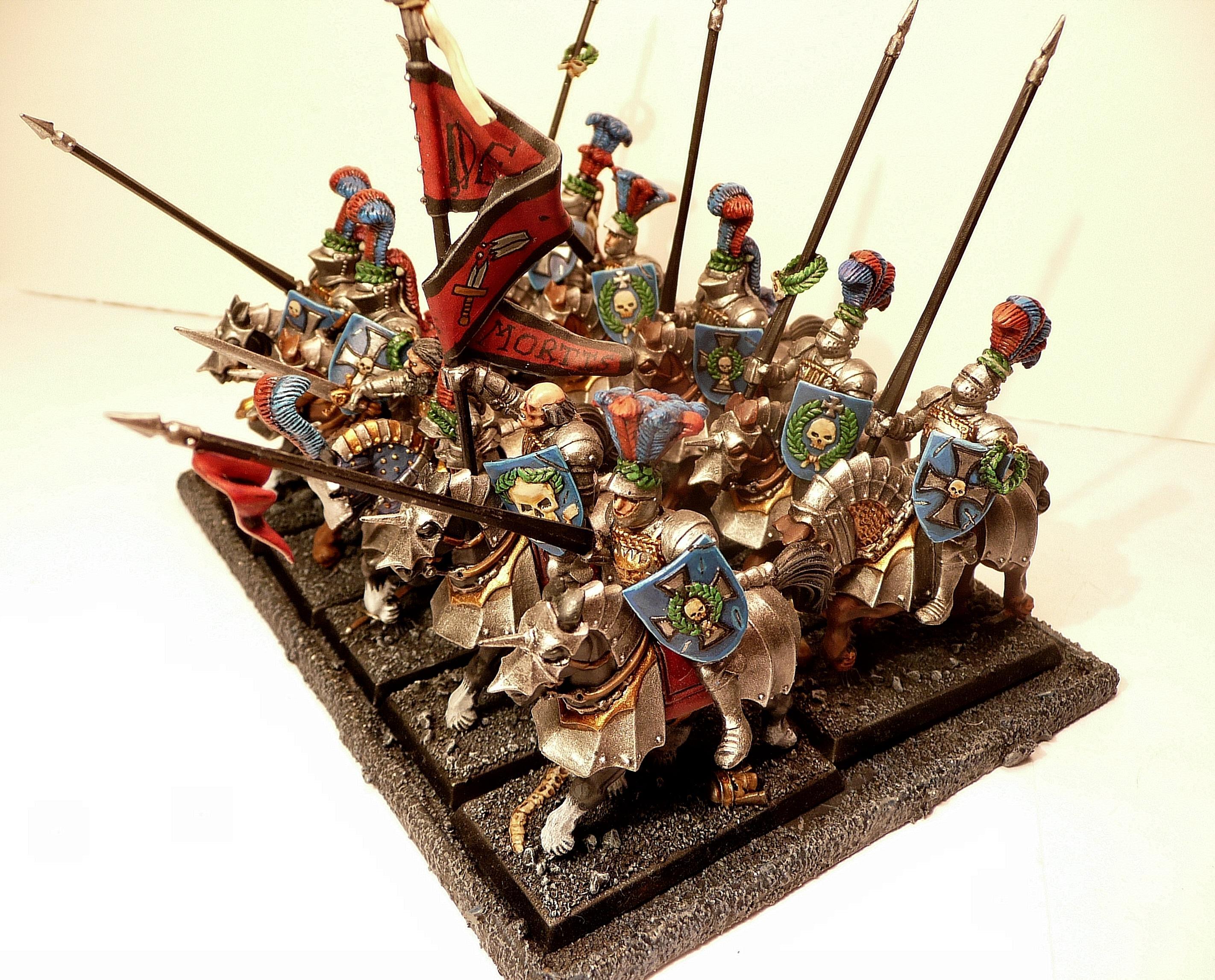 Altdorf, Army, General, Knights, Swordsmen, Warhammer Fantasy
