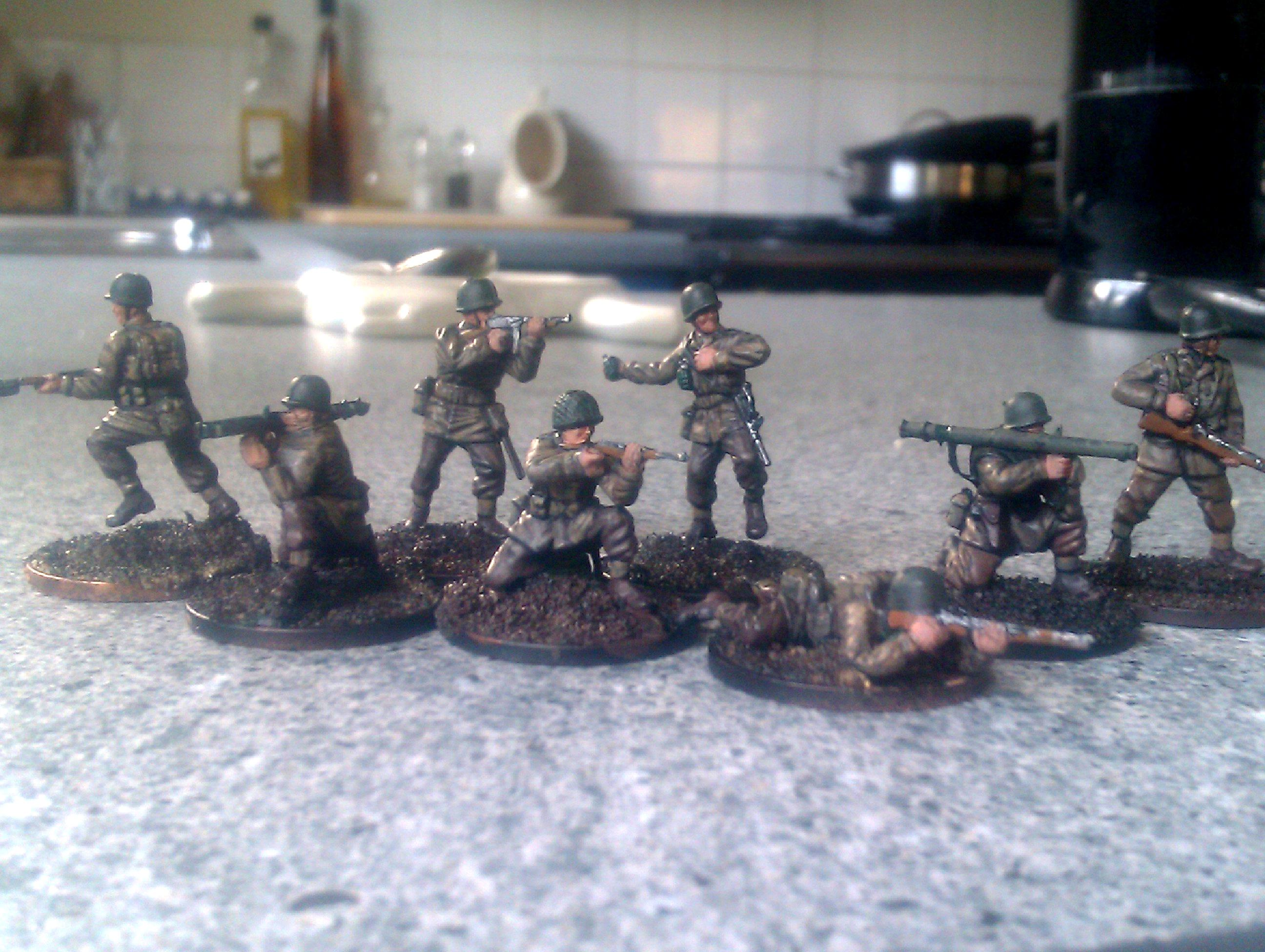 America, Infantry, Revell, Soldiers