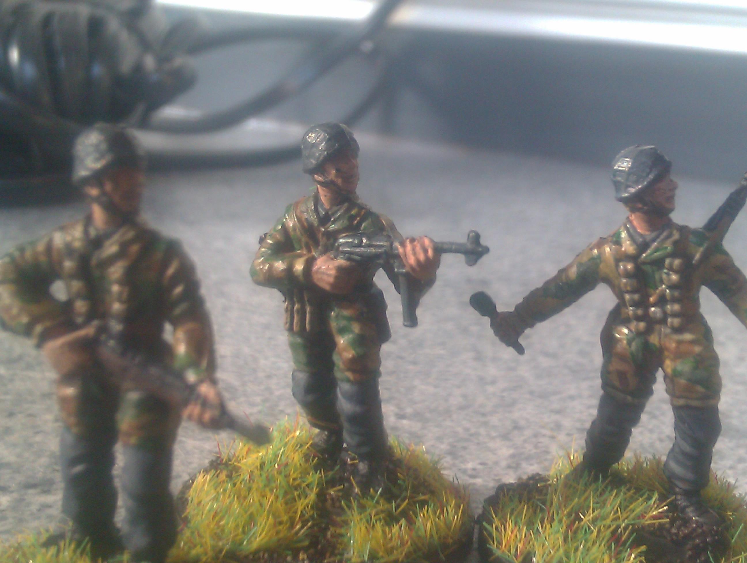 Fallschirmjaeger, Fallschirmjaegers, Fallschirmjager, Fallschirmjagers, Germans, Italeri
