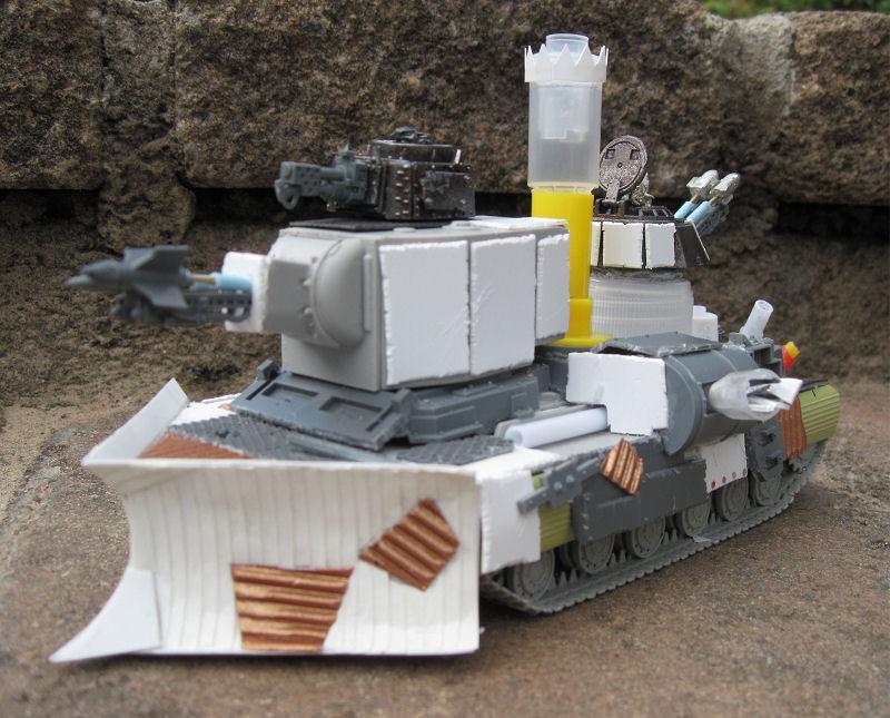 Grot Mega Tank, Grot Tank, Orks, Scratch Build, Warhammer