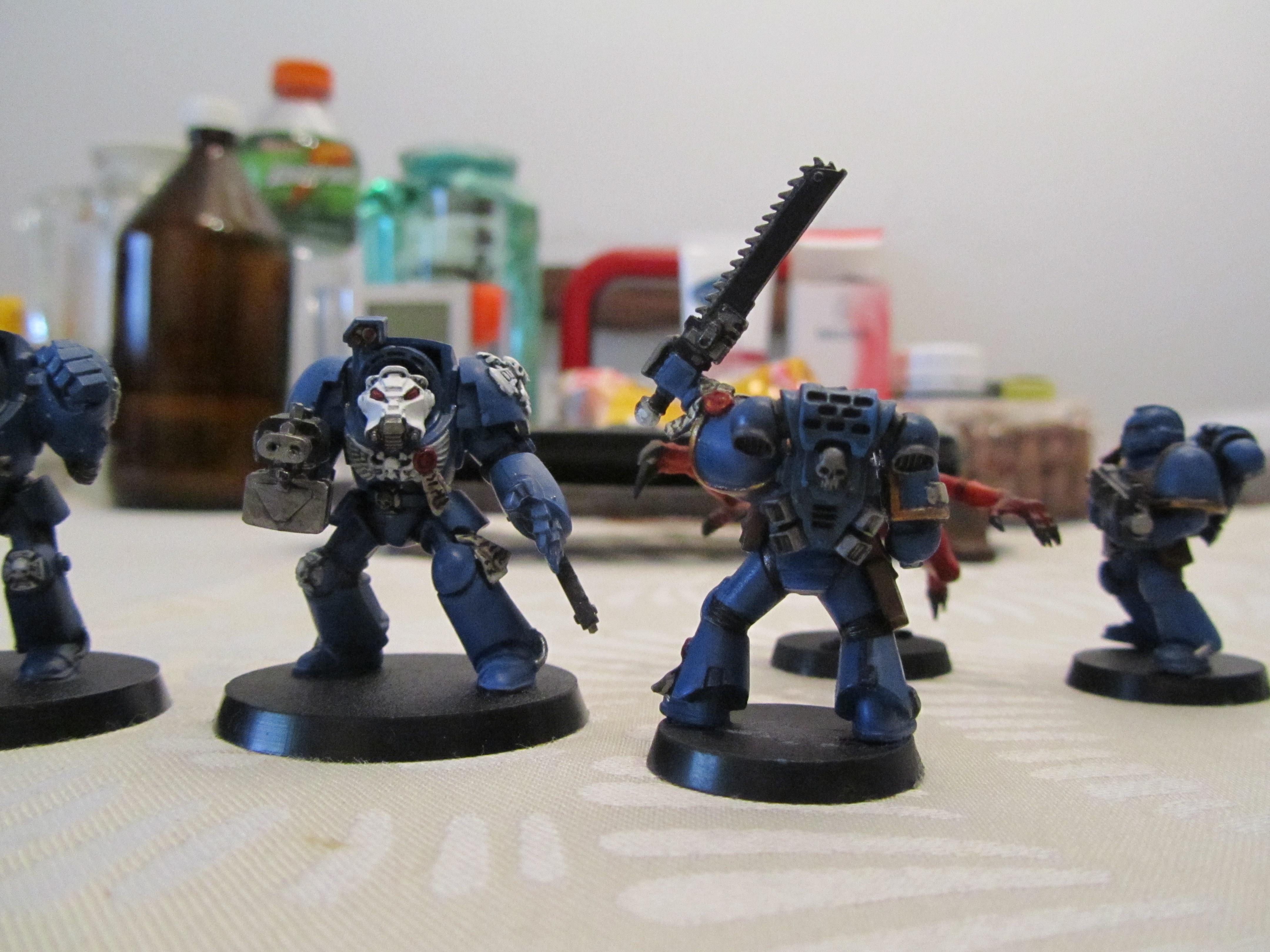 Seargent, Terminator Armor, Ultramarines