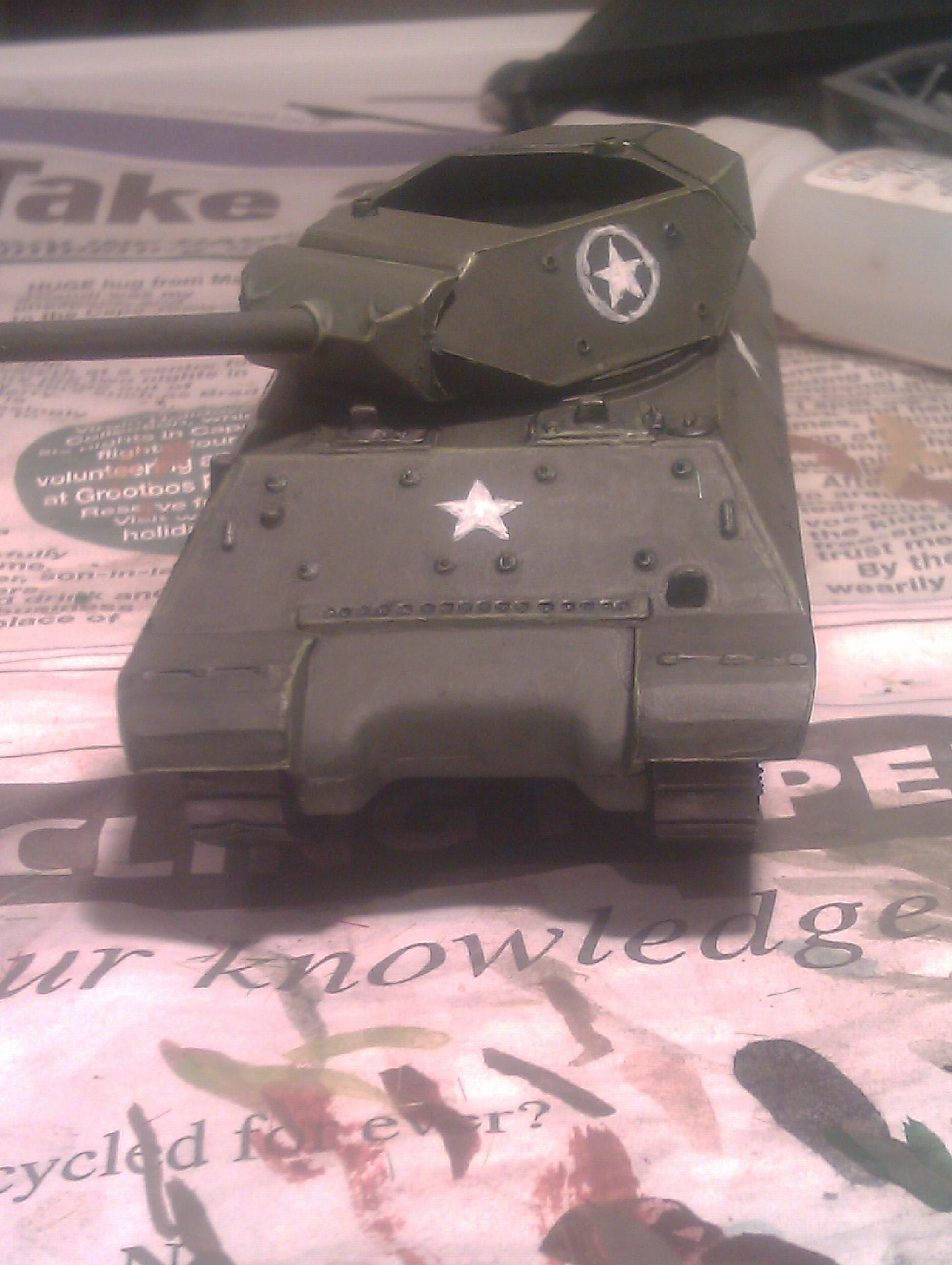 America, Ii, M10, Tank, Two, War, Wolverine, World, World War 2