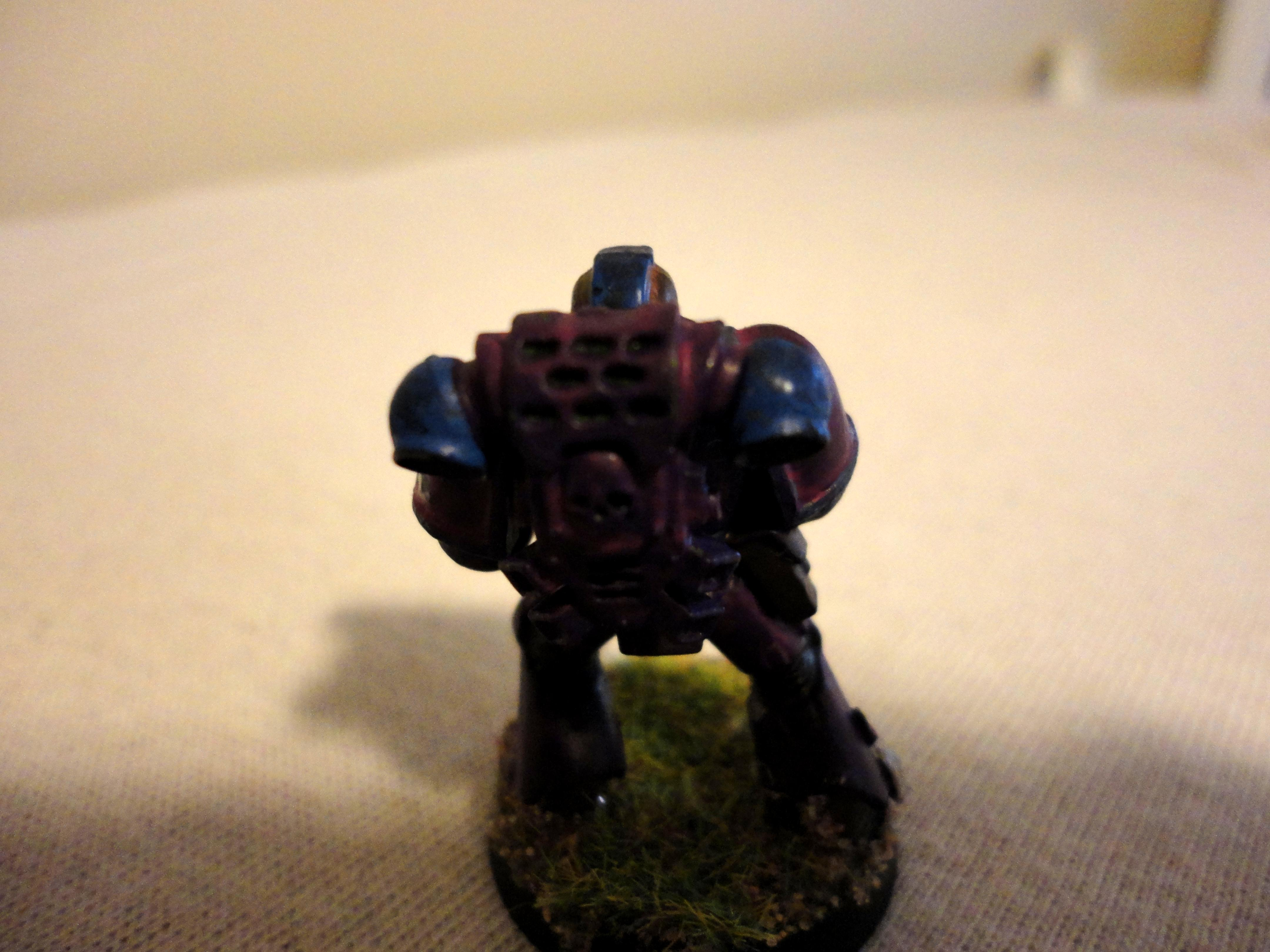 Tactical Marine back view