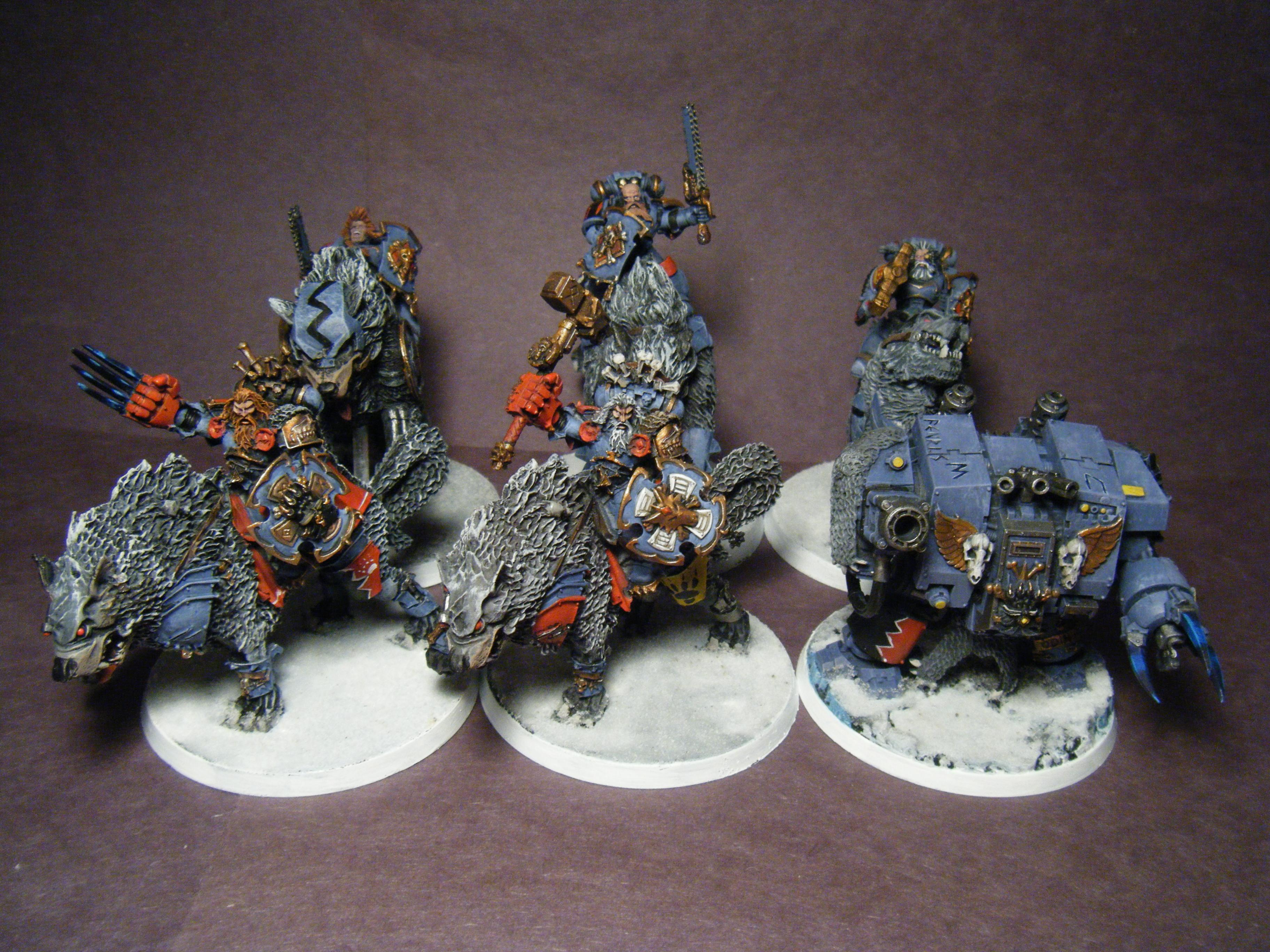 Cavalry, Dreadnought, Space Wolves, Thunderwolf