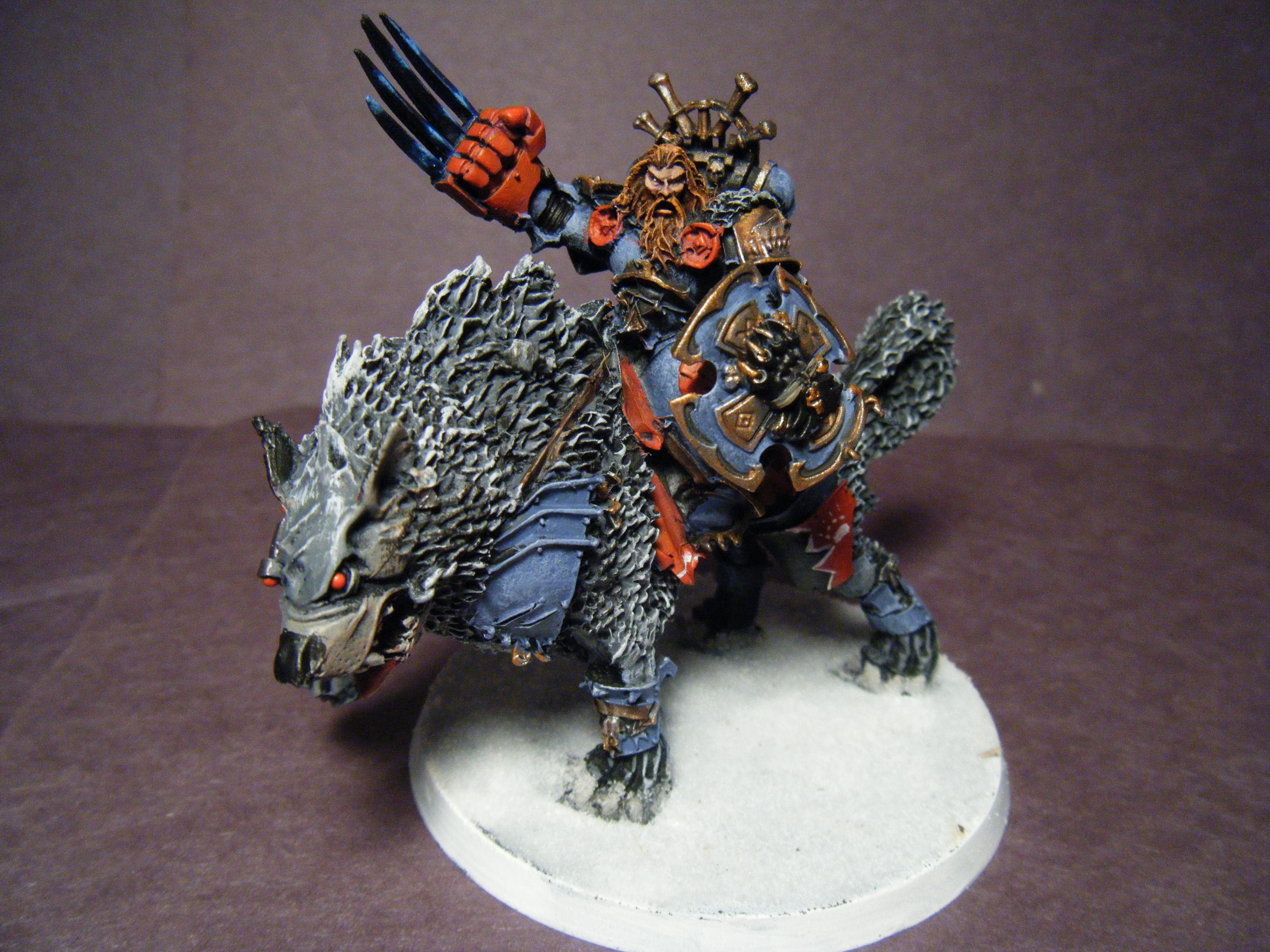 Lightning Claws, Space Wolves, Thunderwolf, Wolf Lord