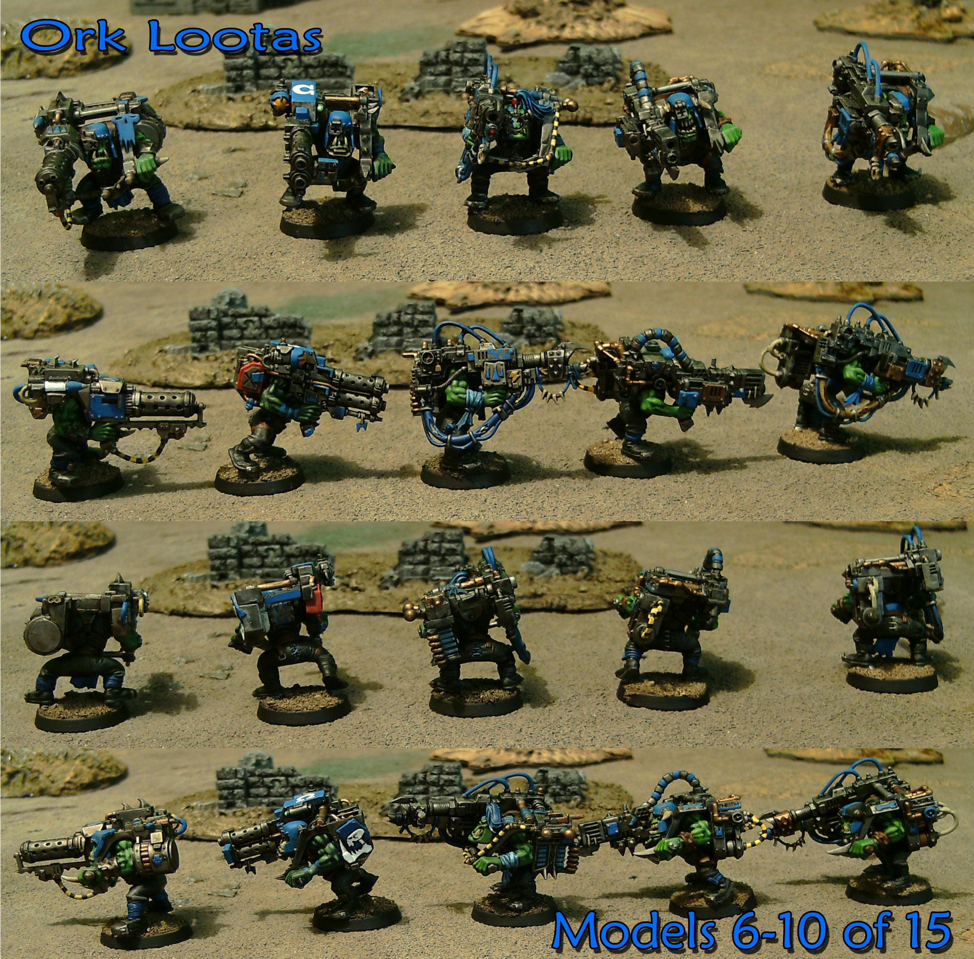 Deff Skulls, Deffskulls, Lootas, Orks, Ouze, Warhammer 40,000