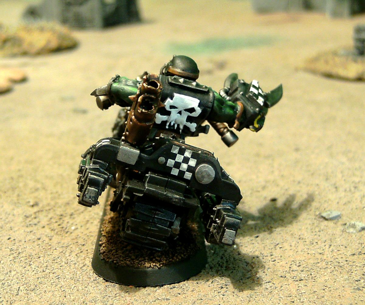 Bike, Goffs, Motorcycles, Nob Bikers, Orks, Ouze, Power Claw, Power Klaw, Warbikers, Warhammer 40,000