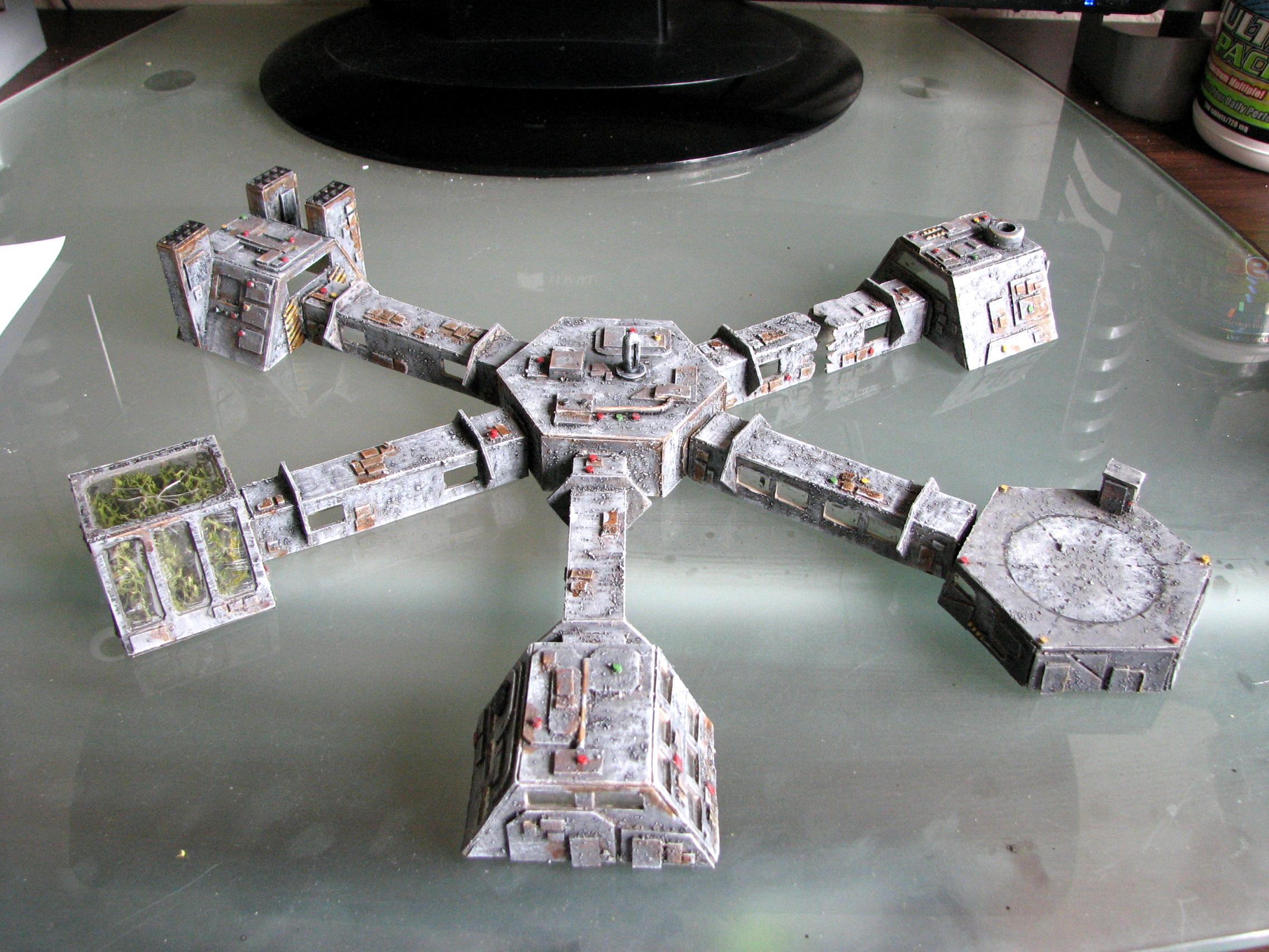 6mm, Modular, Space Station