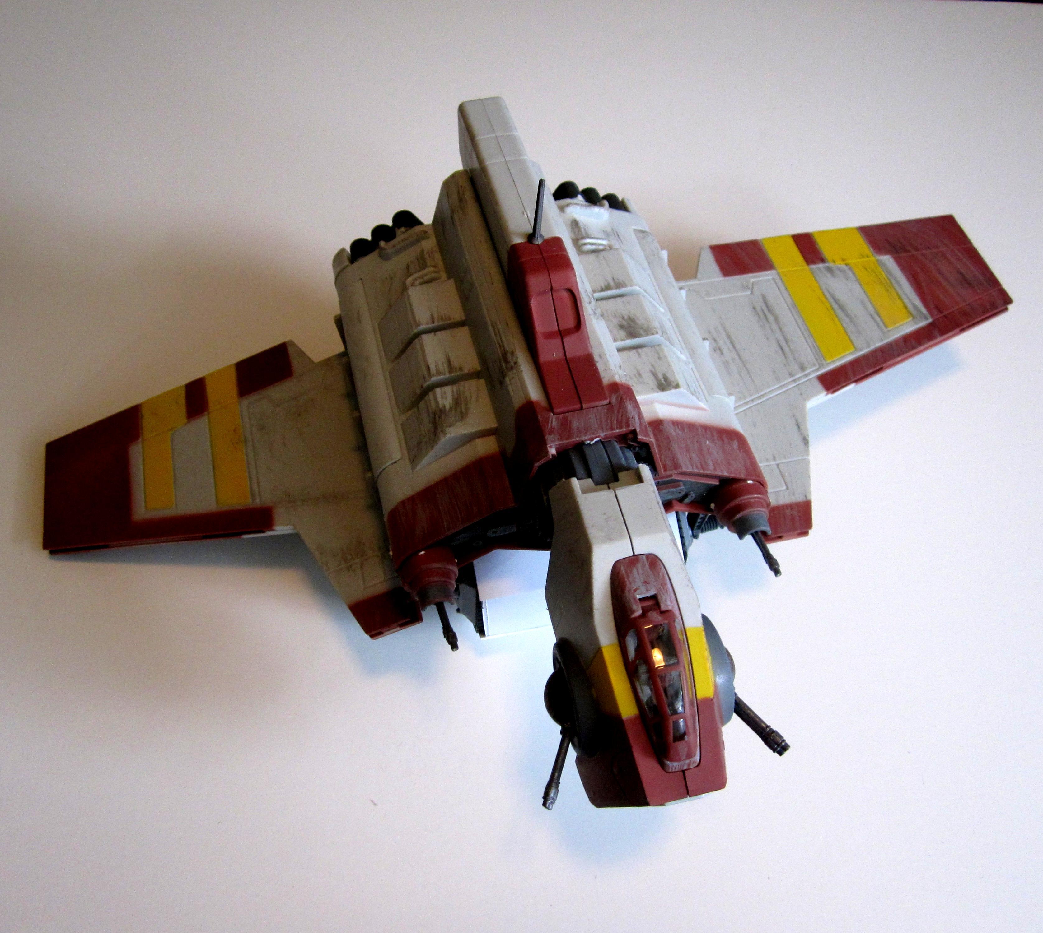 Drop Ship, Flyer, Lander, Shuttle, Star Wars, Storm Raven