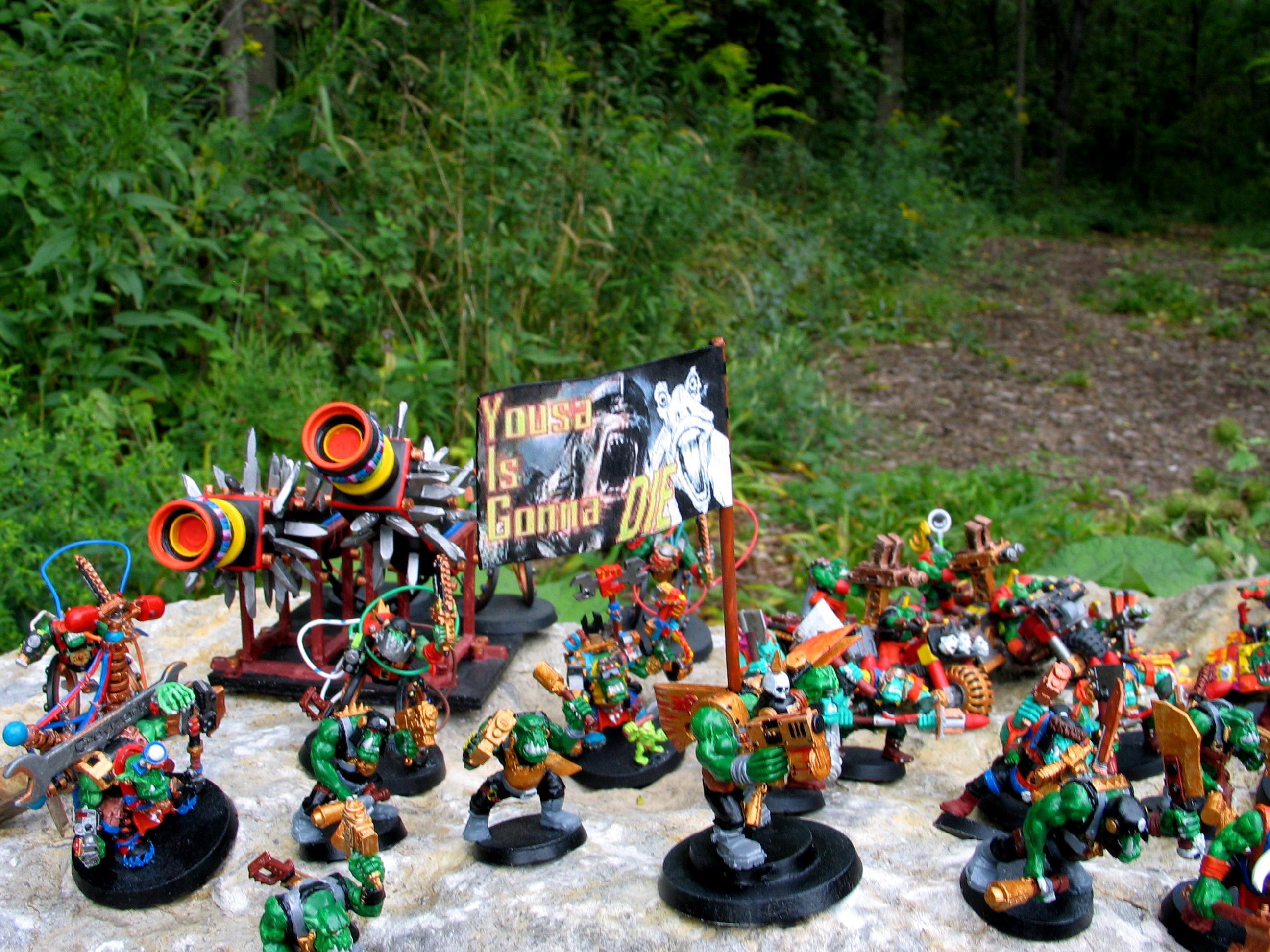 Kult Of Speed, Orks, Outdoors, Solorg, Speed Freeks, Terrain, Waagghh, Waagh