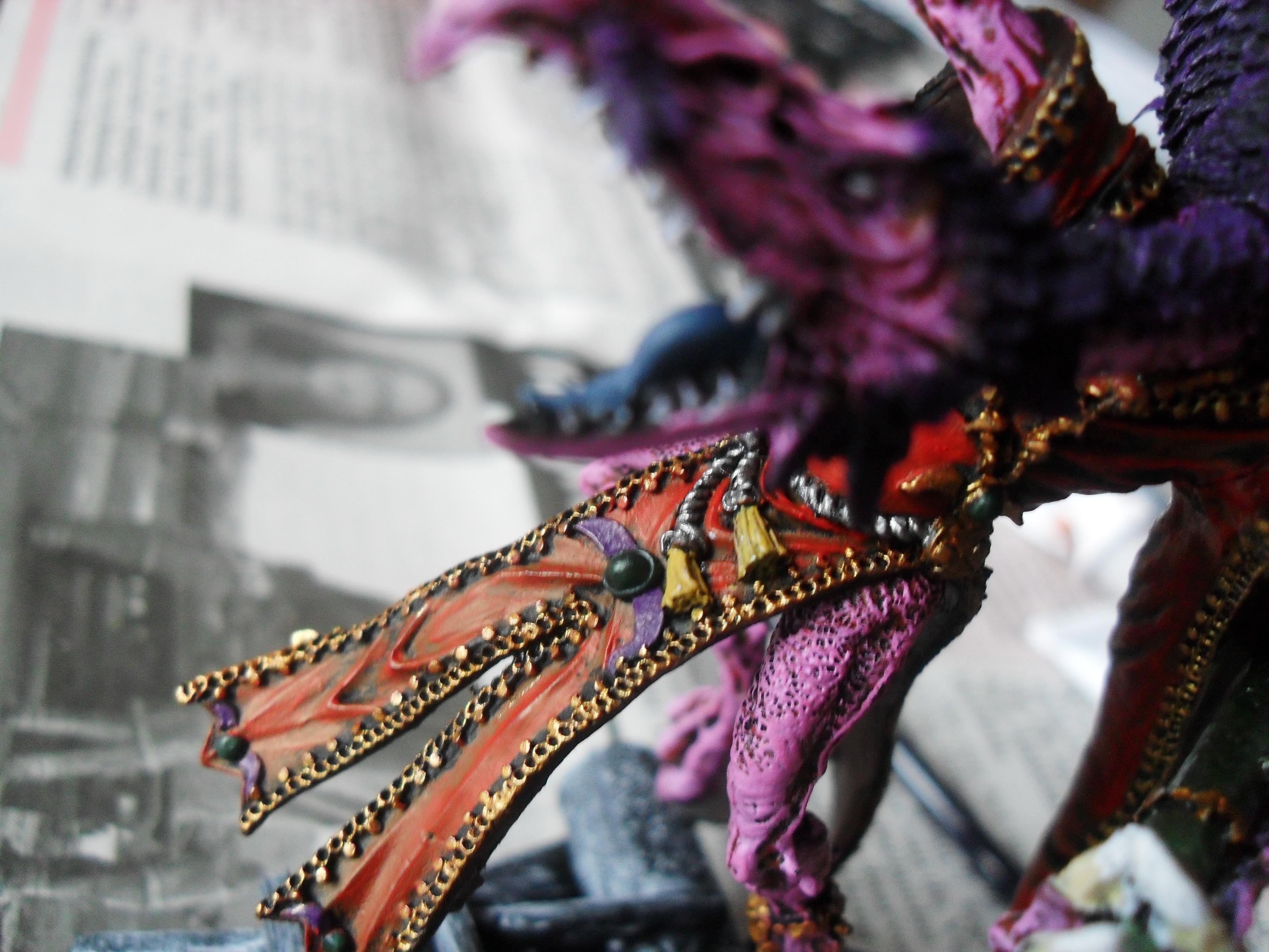 Bird, Change, Cloak, Close Up, Greater Daemon, Greater Deamon, Greater Demon, Lord, Monster, Tzeentch