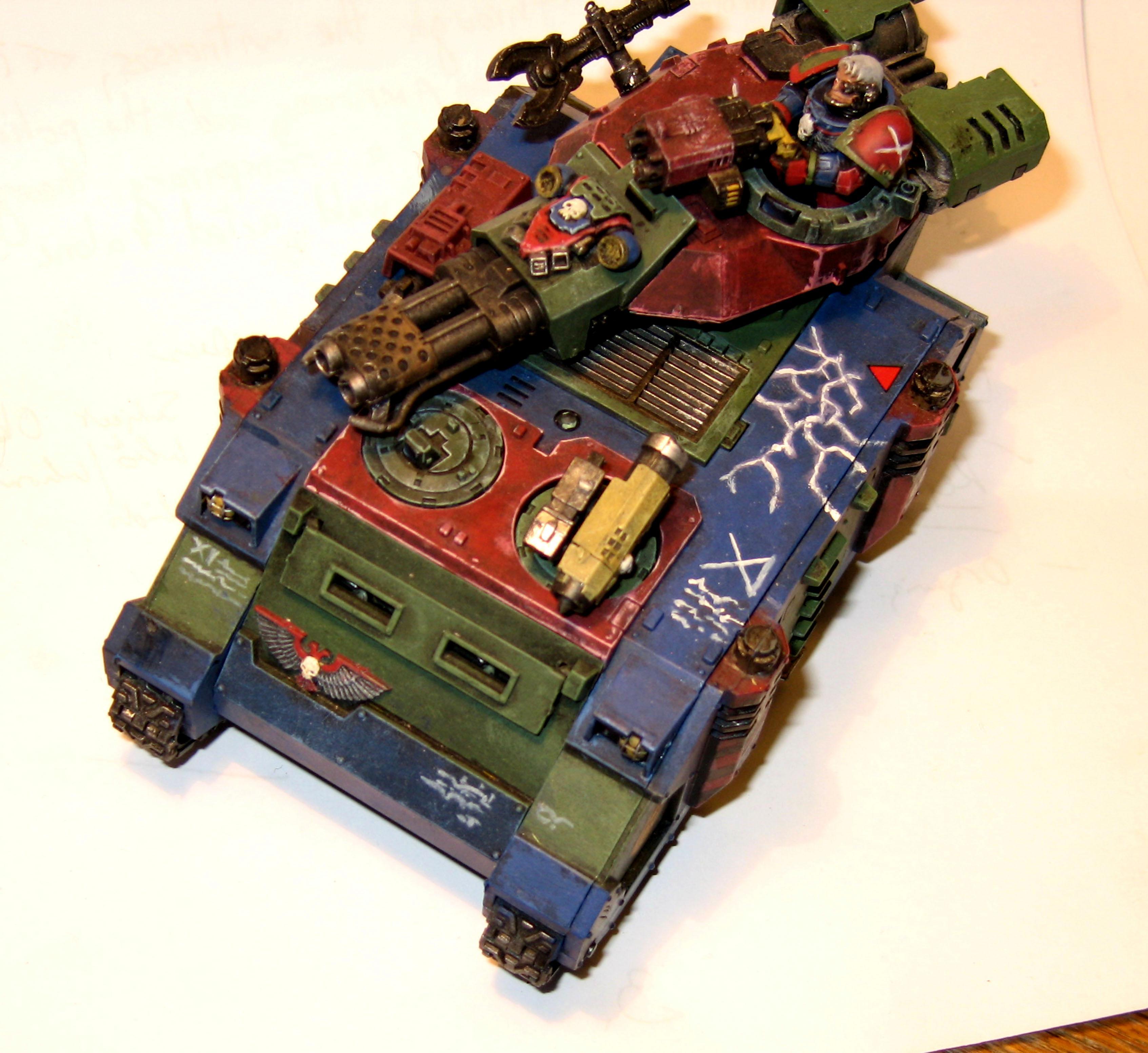 Raven Claws, Rhino, Space Marines, Warhammer 40,000