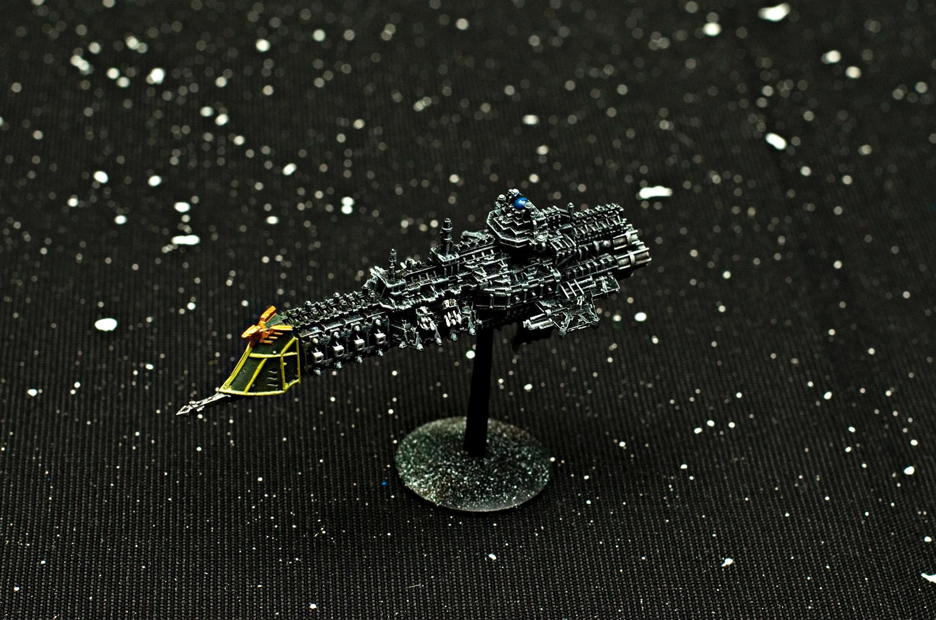 Battlefleet Gothic, Cruiser, Fleet, Imperial, Imperials, Lunar Class Cruiser