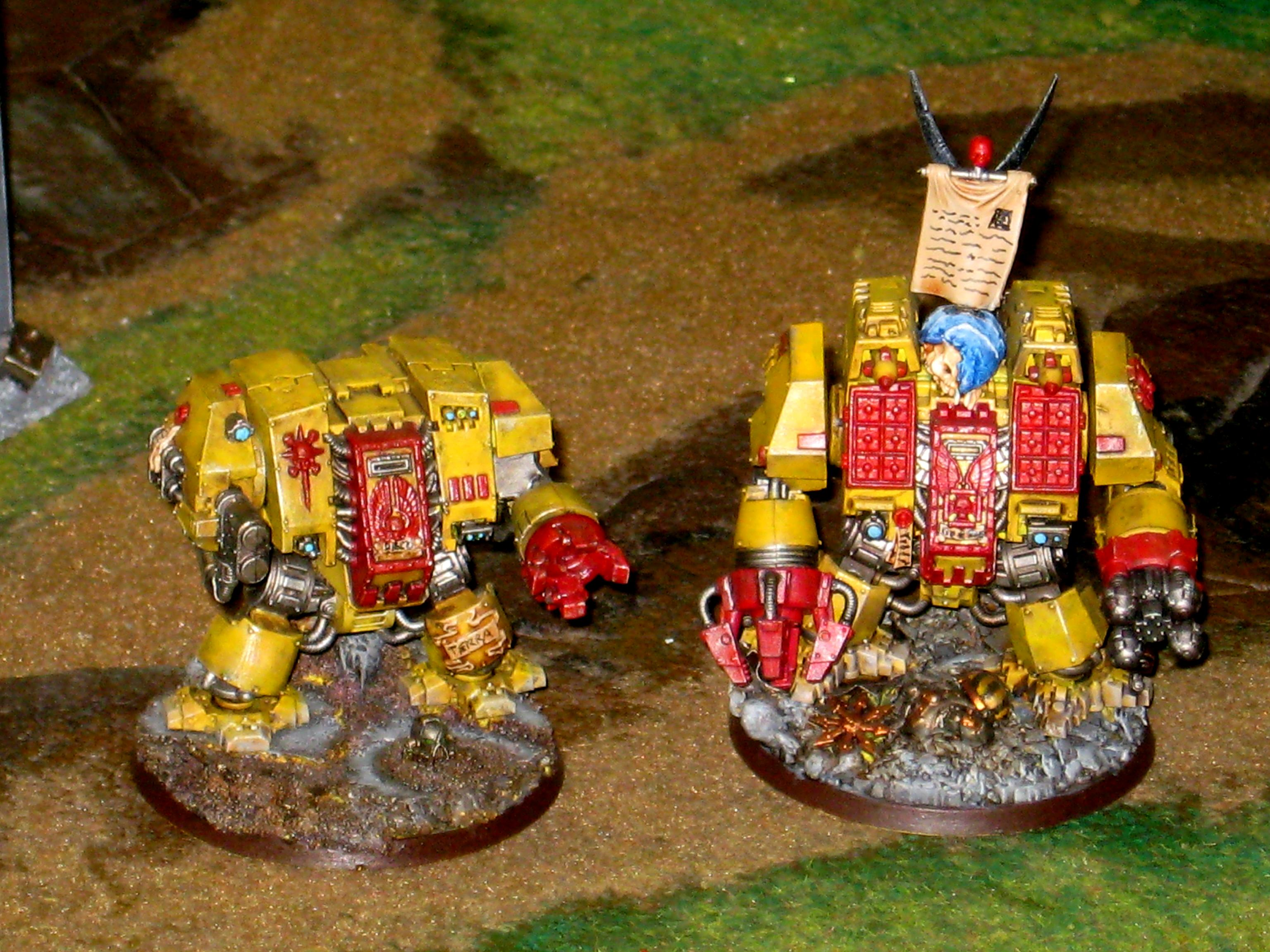 Dreadnought, Fists, Imperial, Ironclad, Yellow